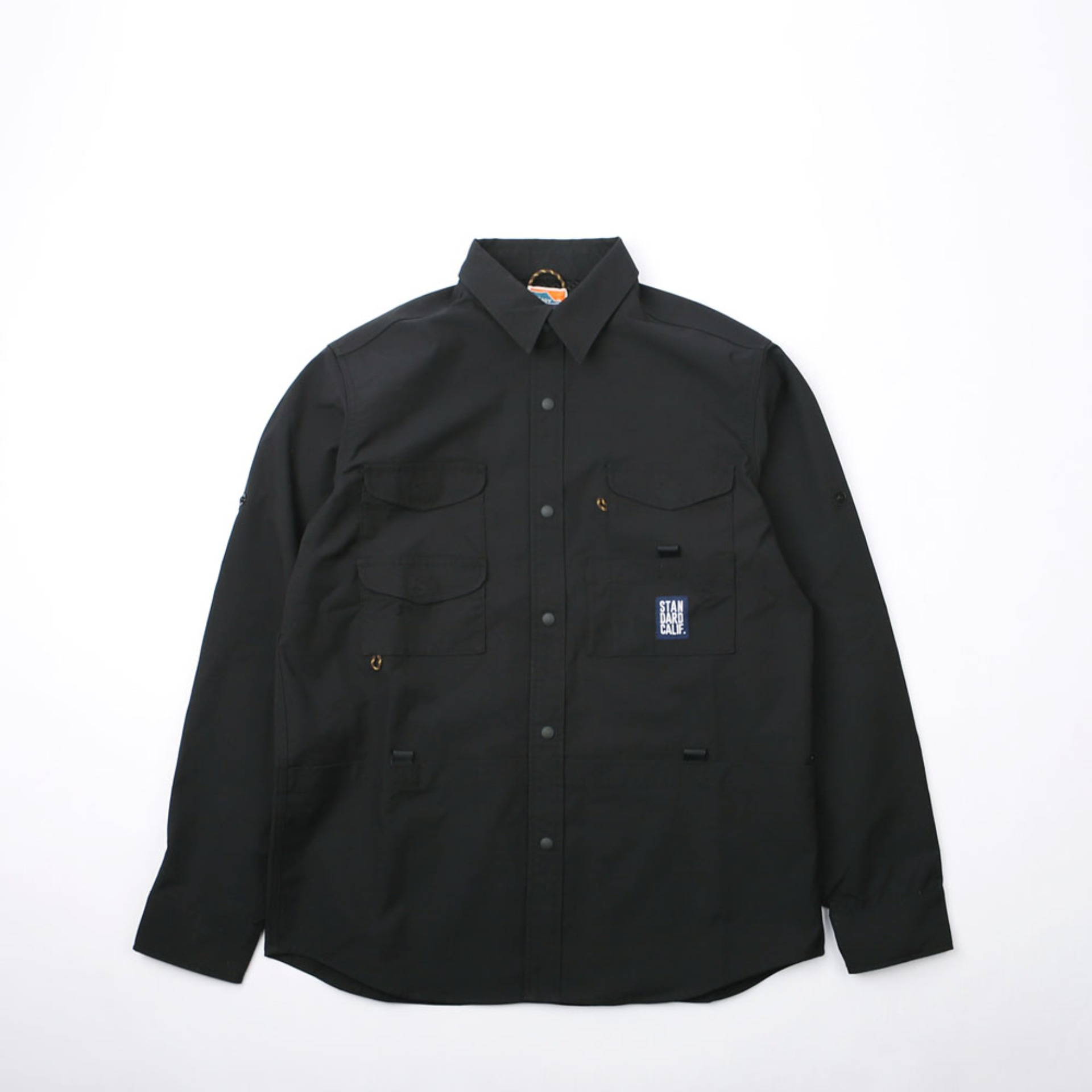 SD Coolmax Stretch Duck Field Shirt (Black)