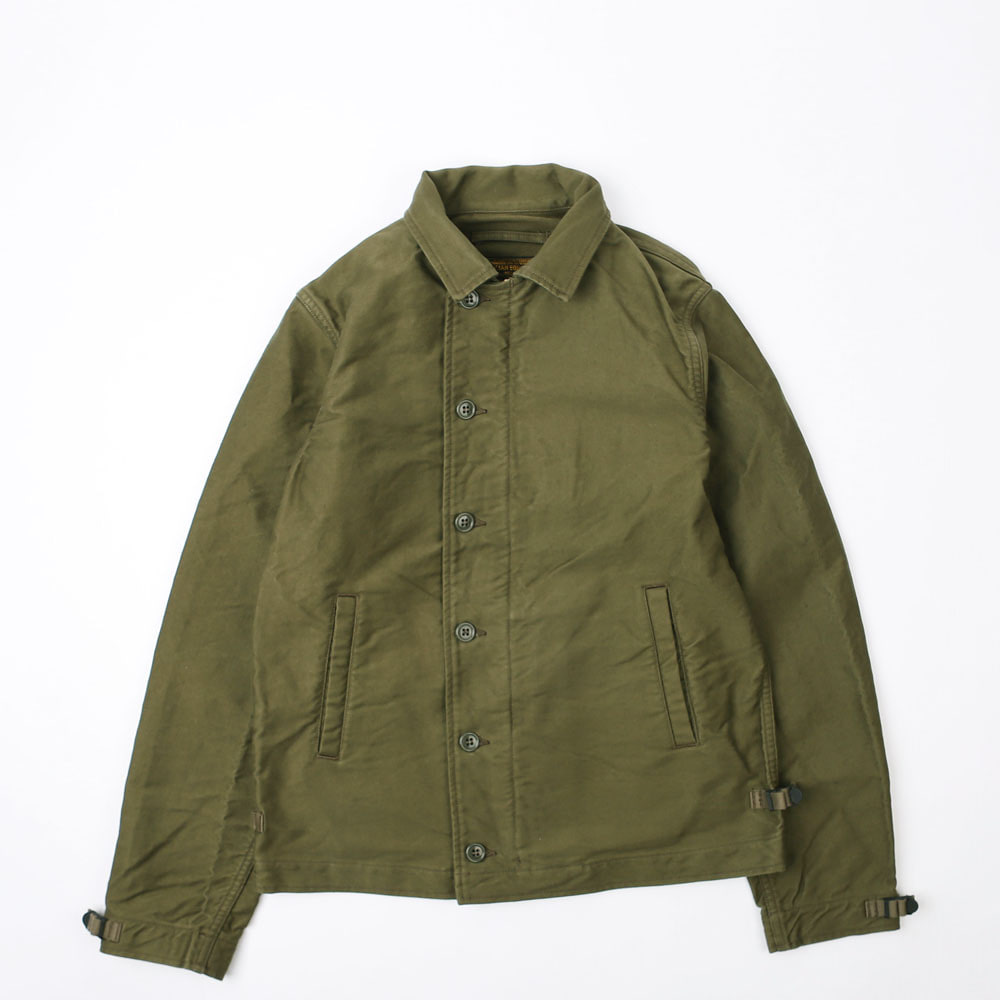 "[Union Special Overalls]Civilian Military""DECK WORKER JACKET""(Olive)"