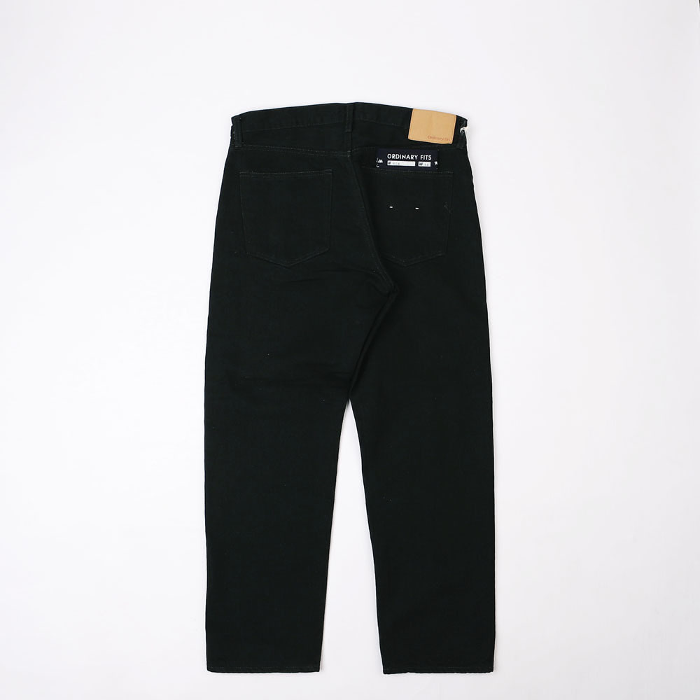 5 POCKET ANKLE DENIM PANTS - Black
