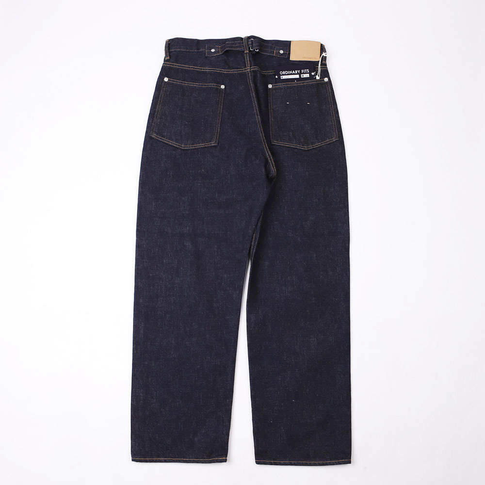 NEW FARMERS 5 POCKET DENIM - One Washed