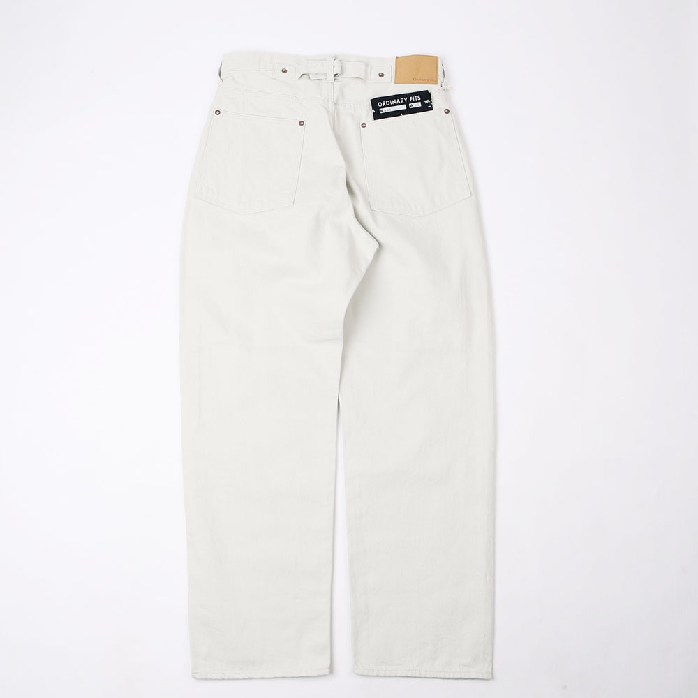 NEW FARMERS 5 POCKET DENIM - White