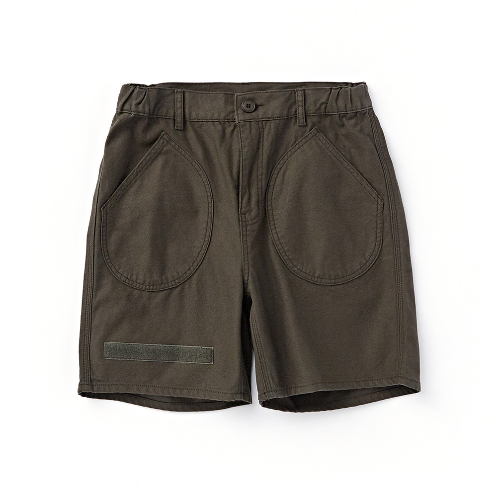 CWSP-002 Deck Pockets Short Pants Olive