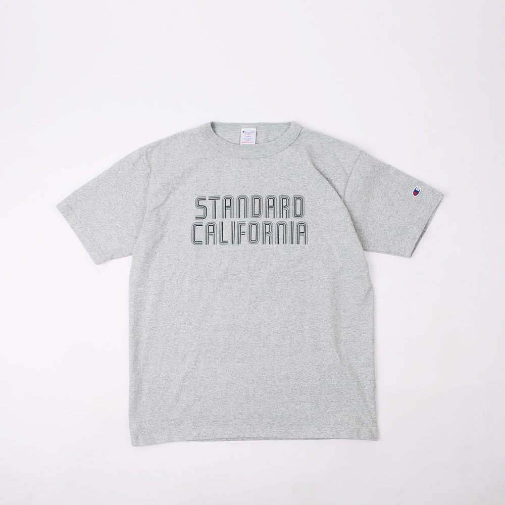 CHAMPION × SD T1011 T-Shirt (Melange Gray)