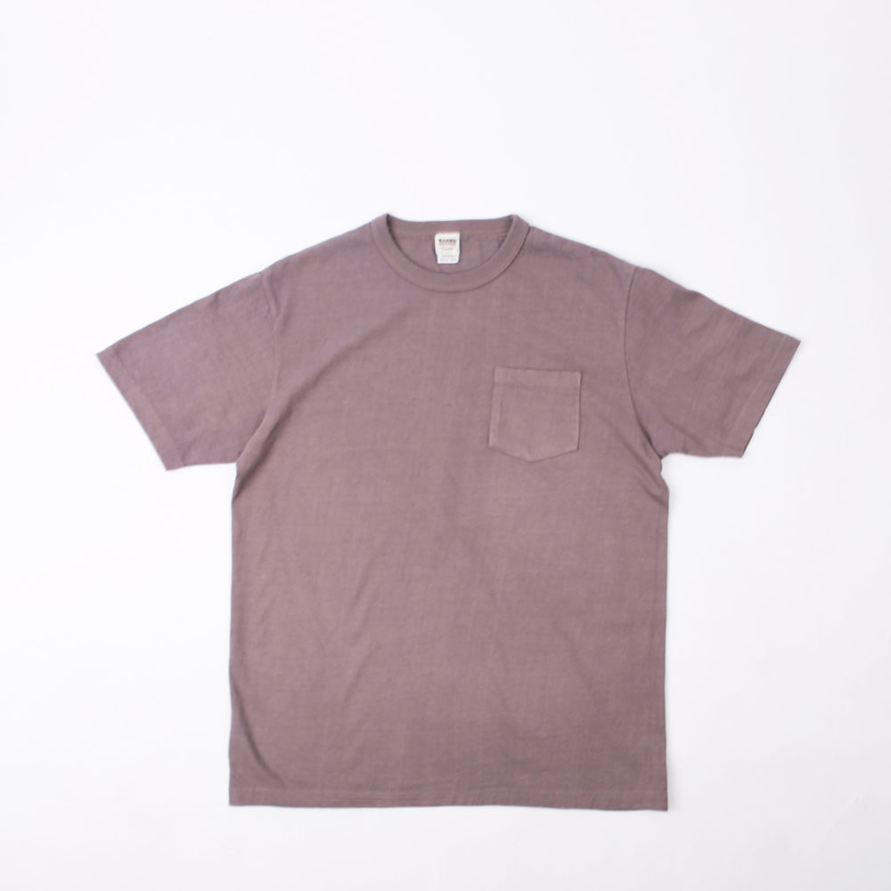 Loopwheel Pocket Tee (Purple)