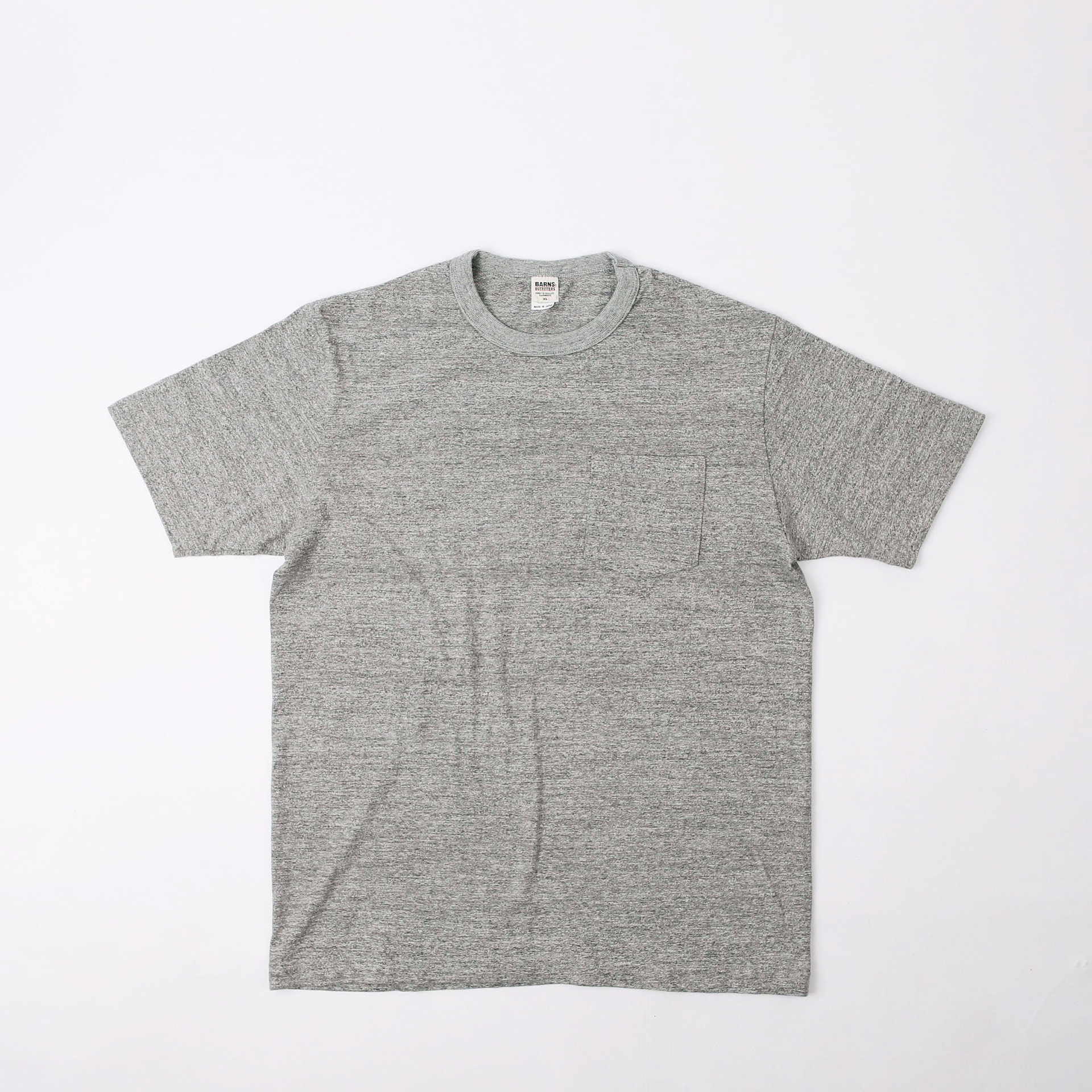 Loopwheel Pocket Tee (Melange Gray)
