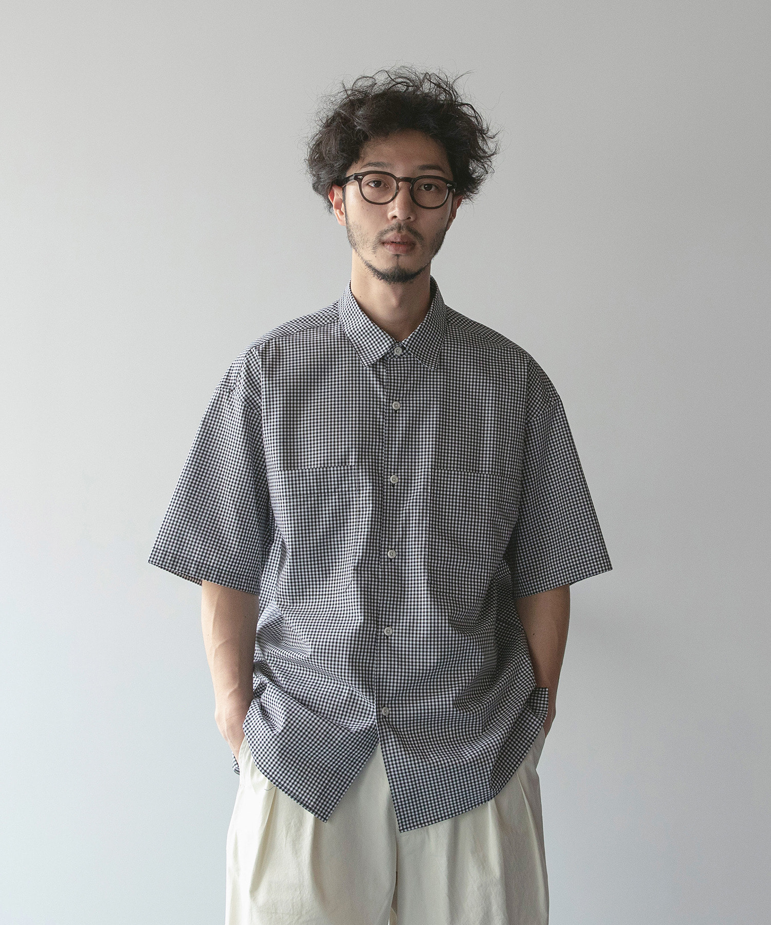 WRITER SHIRT (Gingham Check)
