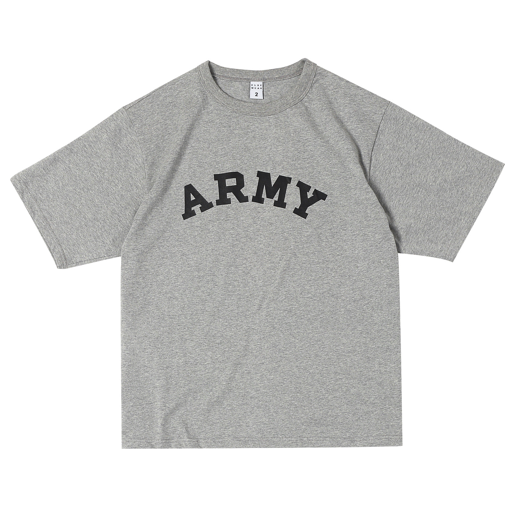 US ARMY OVERSIZED S/S TEE(Heather Gray)