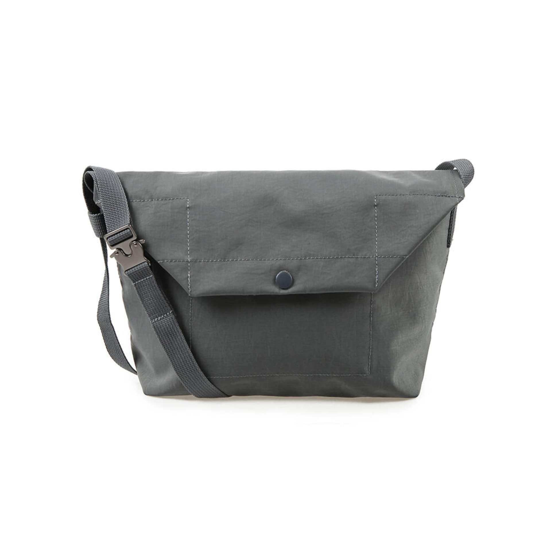 Voyager Shoulder Bag (Steel Gray)