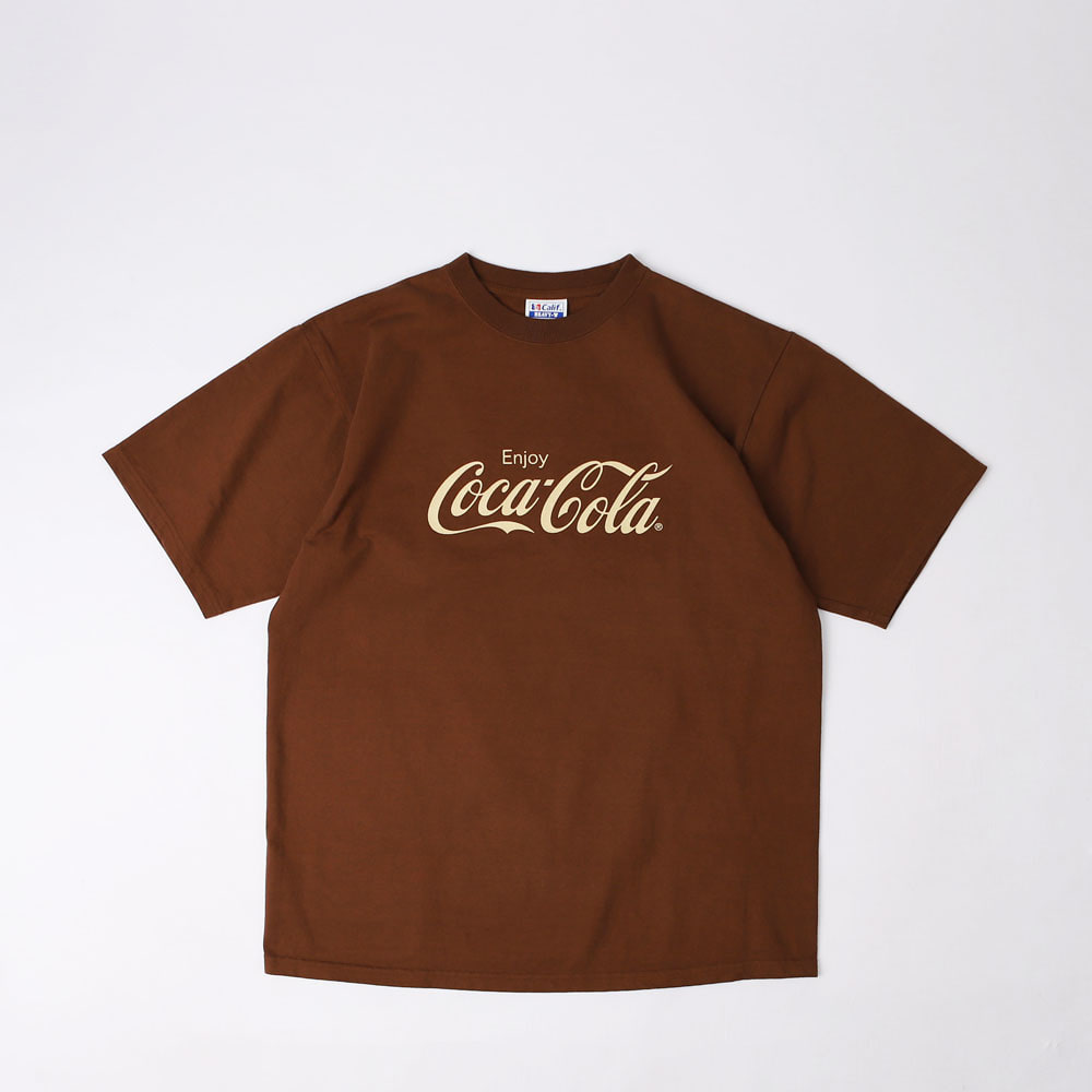 Coca Cola × SD Heavyweight T (Brown)