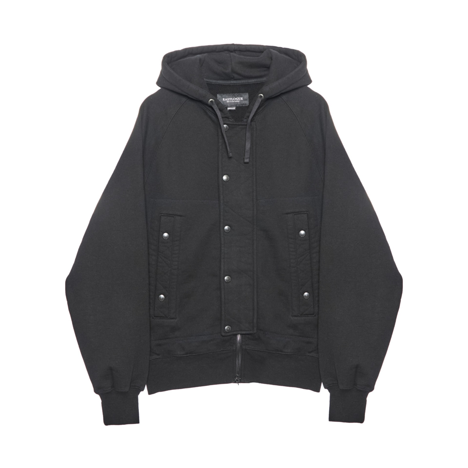 AF HOODED SWEAT JUMPER(BLACK)