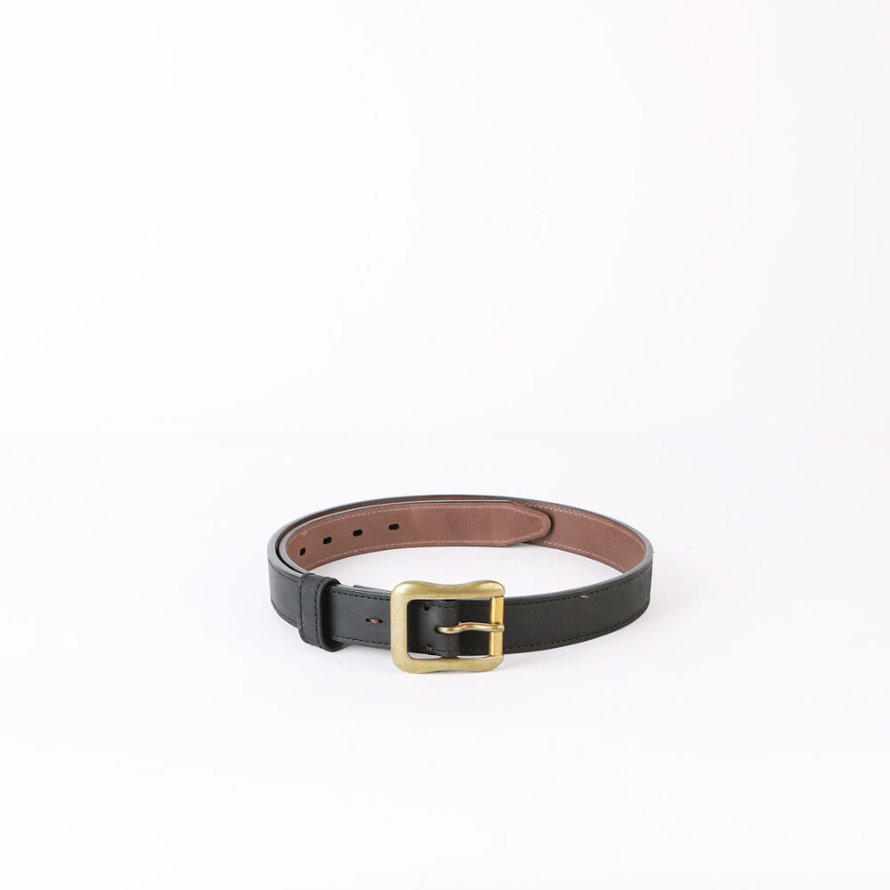 Leather BeltBRAEMER LEATHER BELTBlack