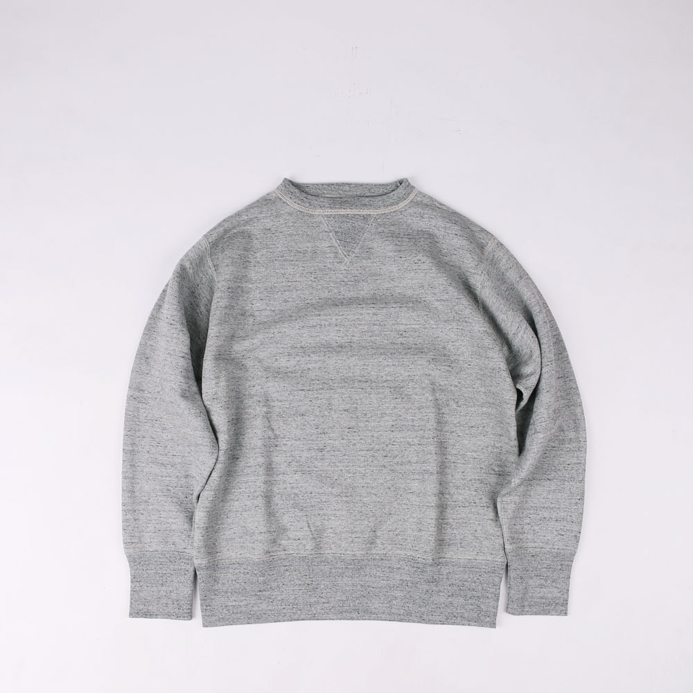 [Power Wear]SET-IN SLEEVE SWEAT SHIRT(Mix Gray)