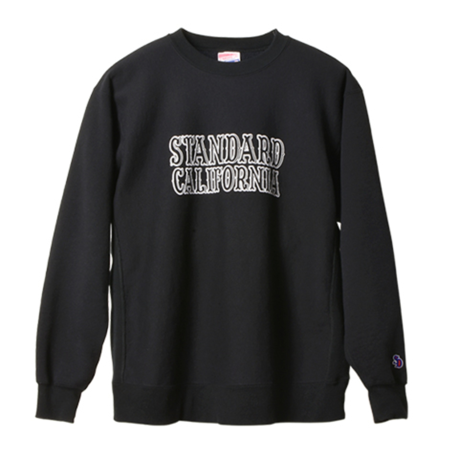 SD ReverseWeave Logo Sweat (Black)