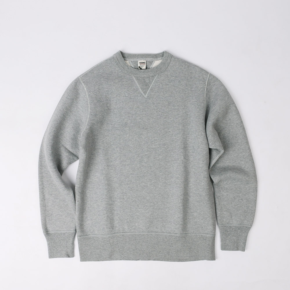 LOOPWHEELVINTAGE SWEAT SHIRT (Gray)