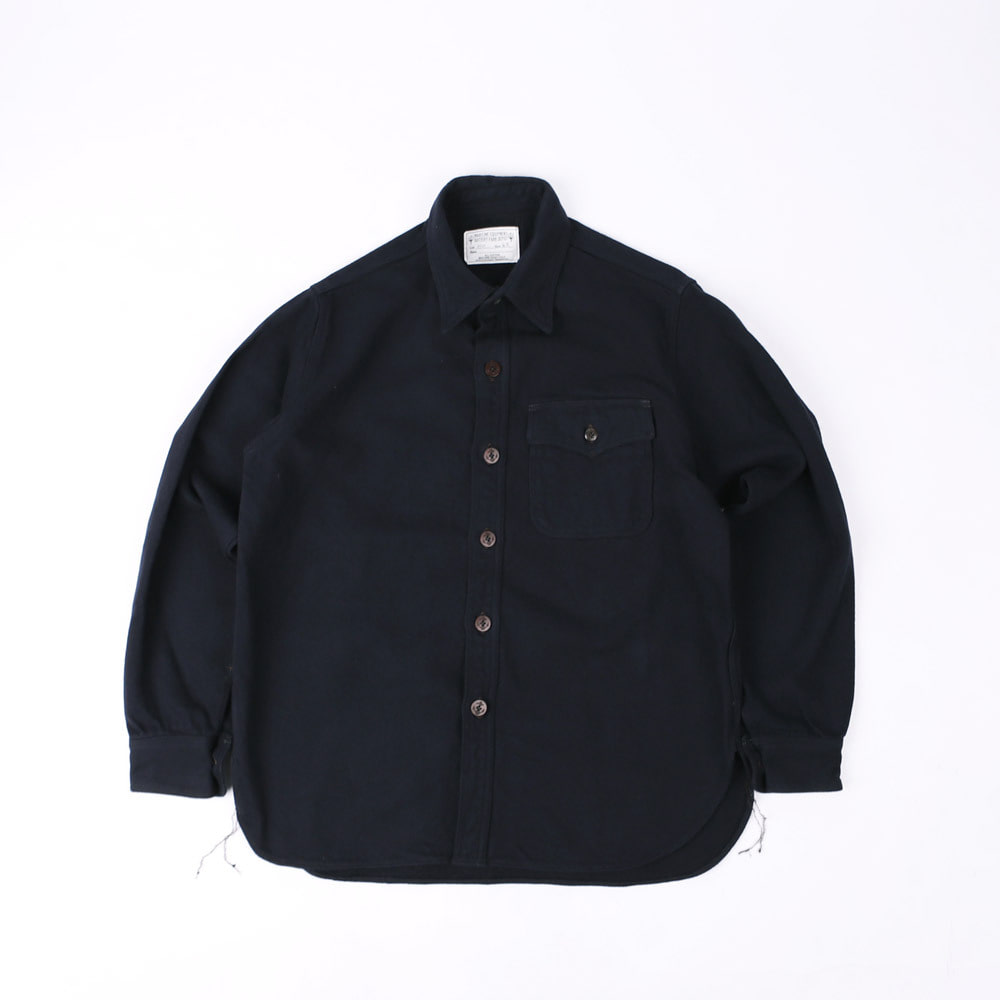 FORREST SHARMAN OFFICER SHIRT (Dark Navy)