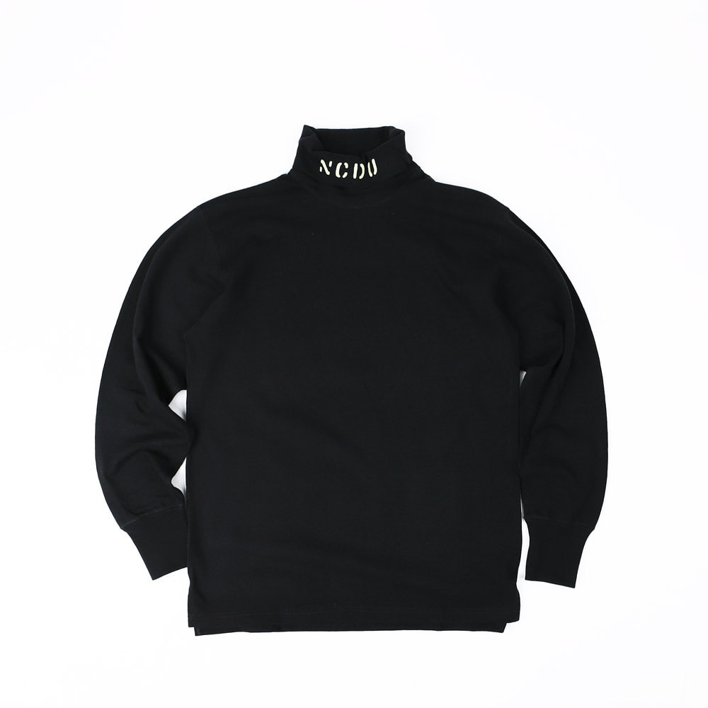 "[Power Wear]Turtle Neck Long Sleeve T-Shirt""N.C.D.U 7TH NBB""(Dark Navy)"