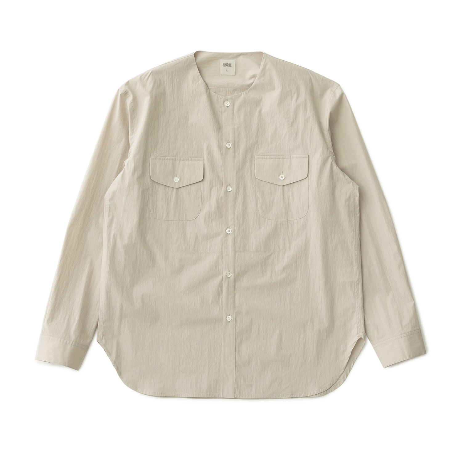 A/O 21SS Layer Round-neck Shirt (Oatmeal)