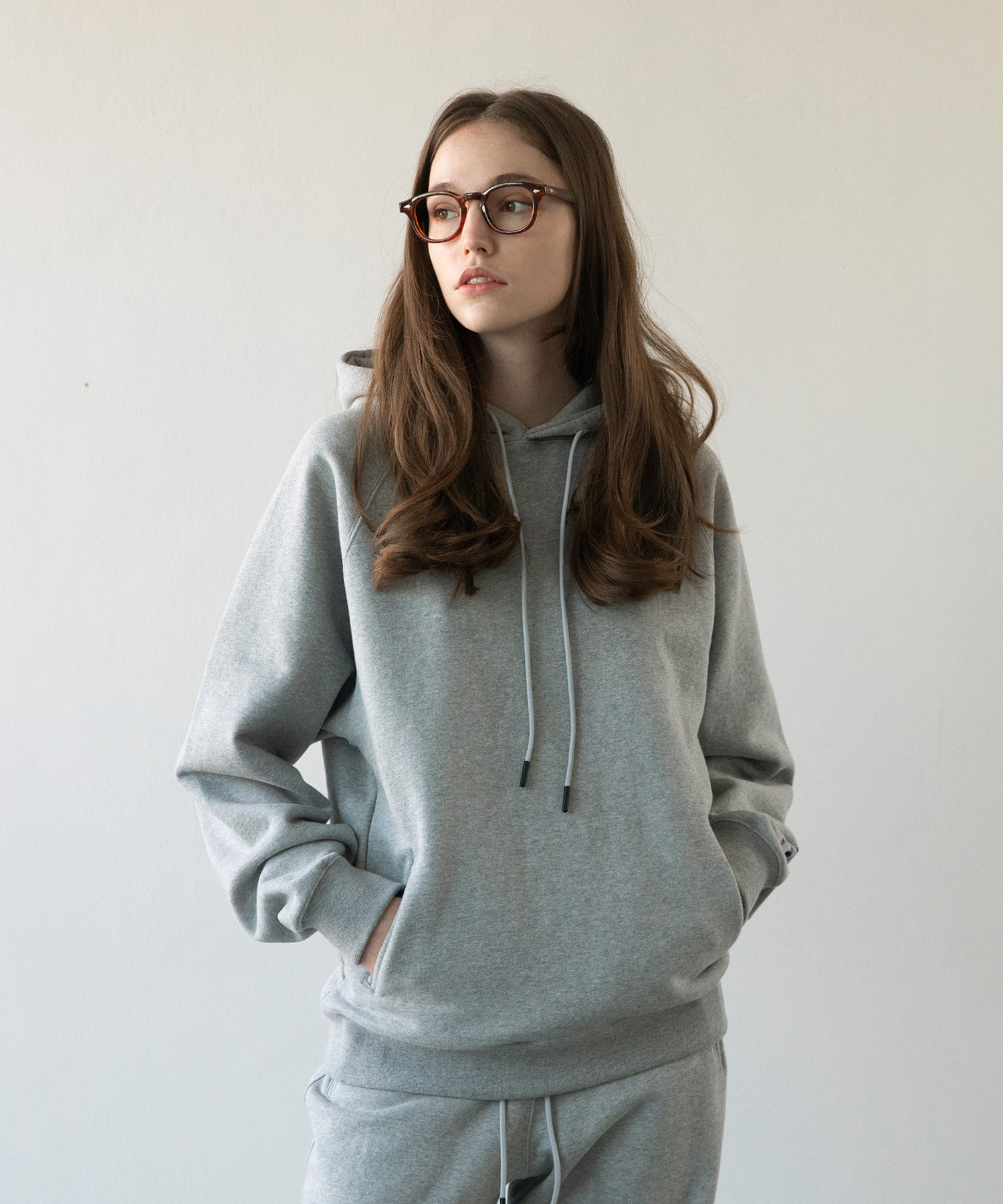 A/O 21SS Women Swallow Gymnasium Hoodie (Heather Gray)