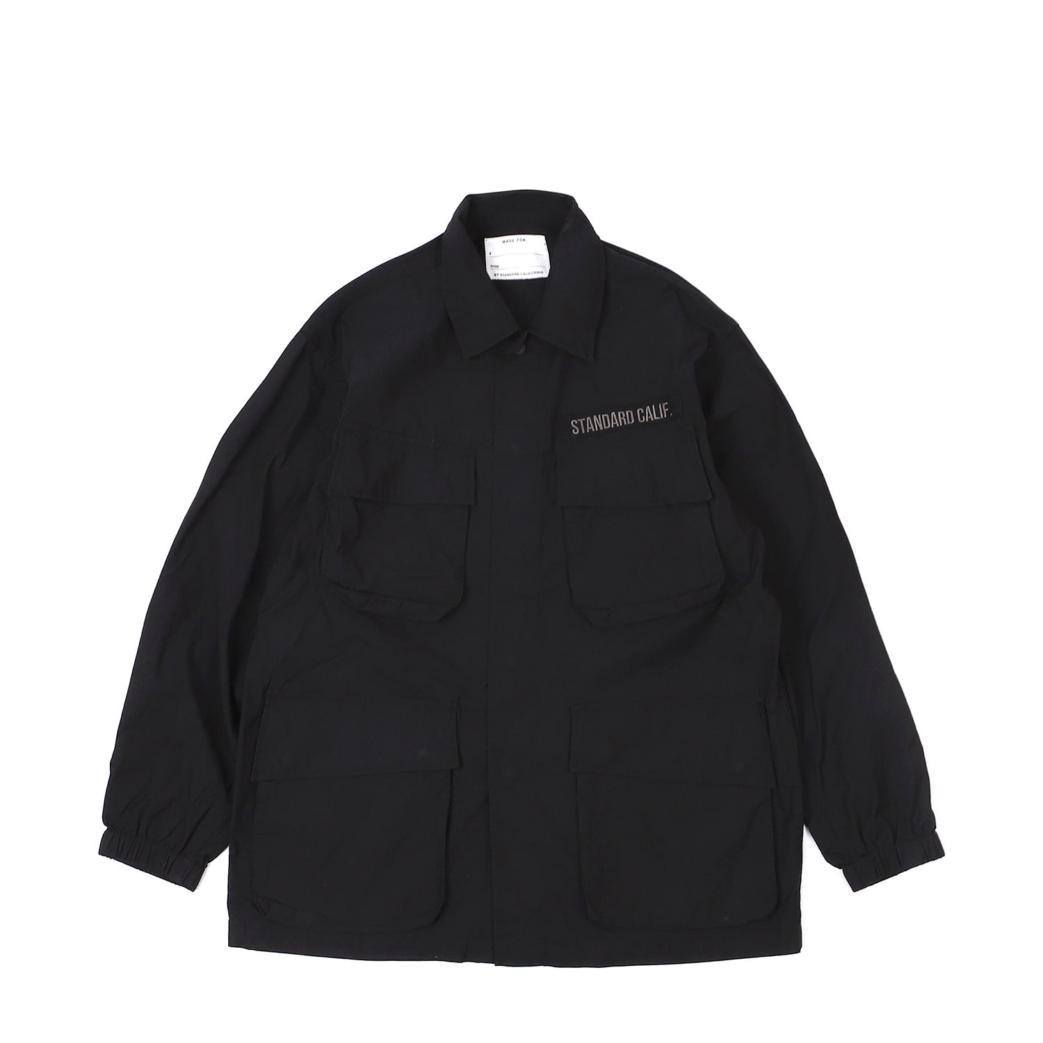 SD Coolmax Stretch Ripstop Jungle Fatigue Jacket(Black)