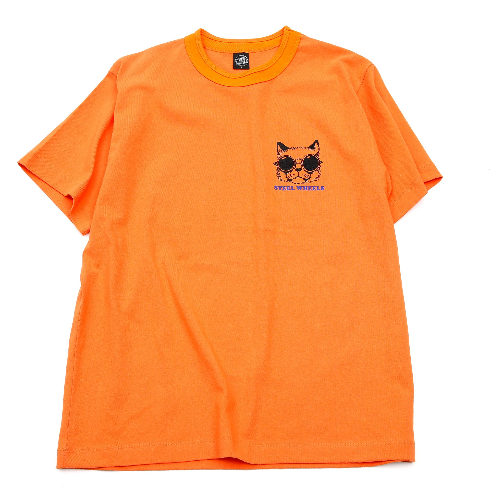 PET CAT T-SHIRT(ORANGE)