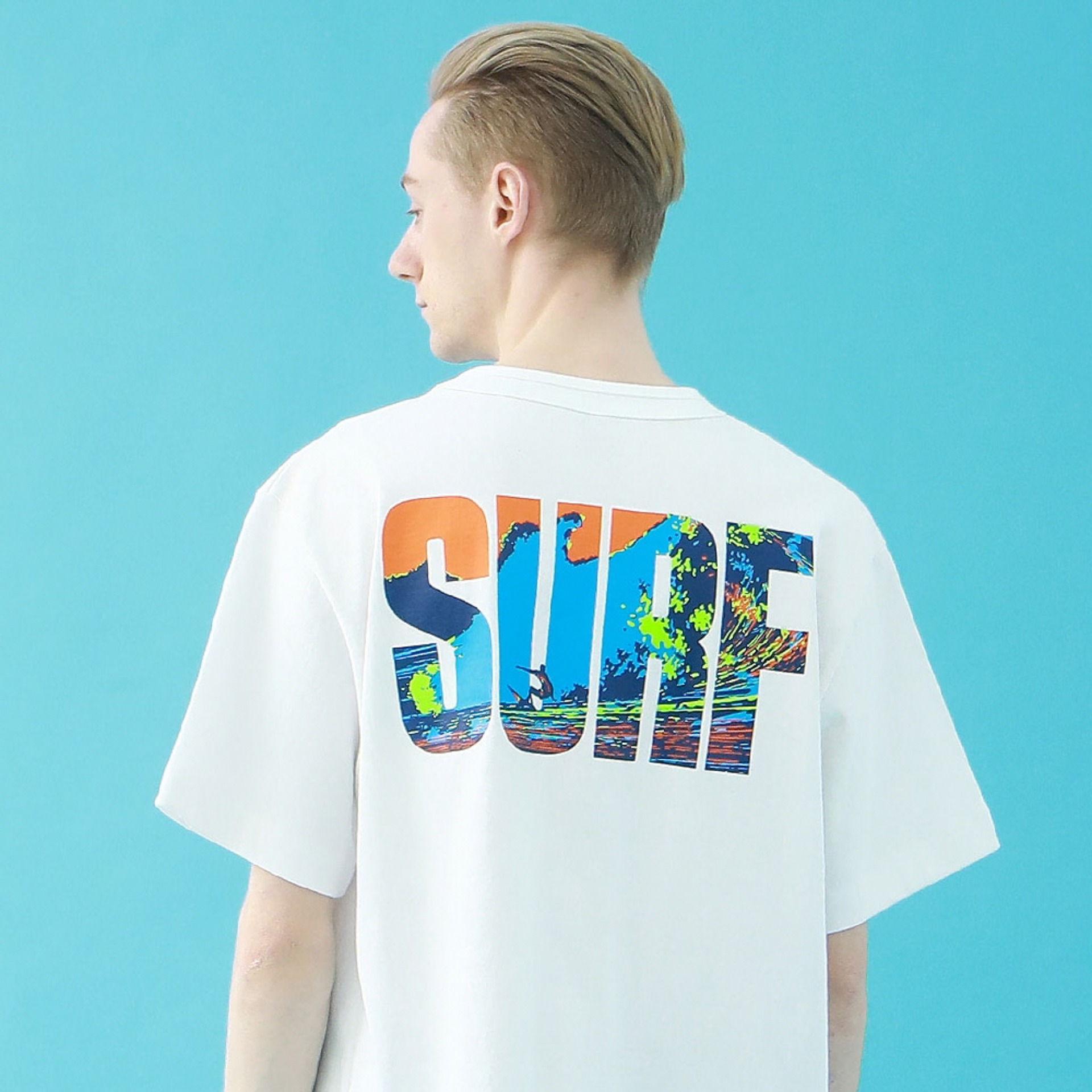 SURF T-SHIRT(WHITE)