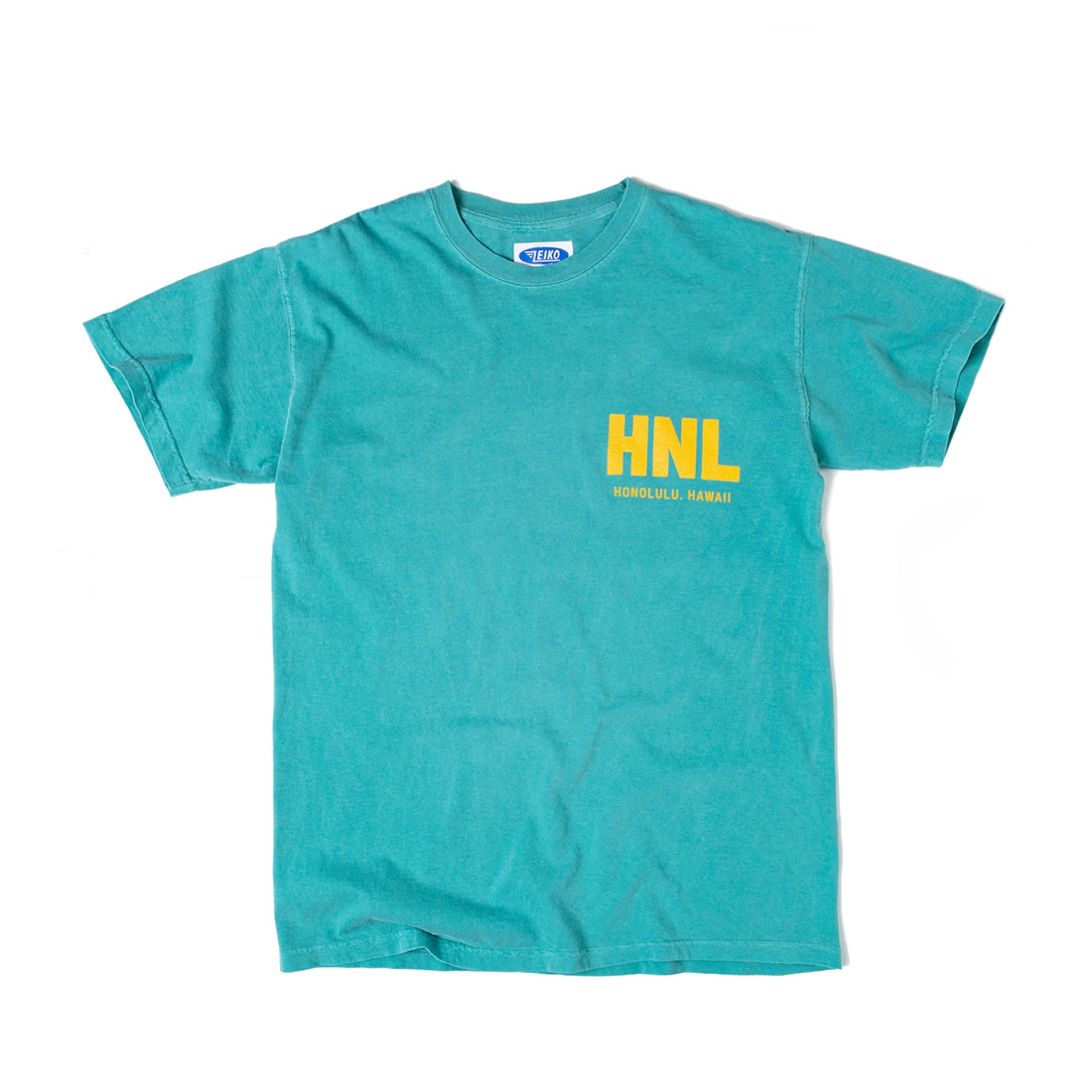 Airlines T-SHIRT (SEA GREEN)