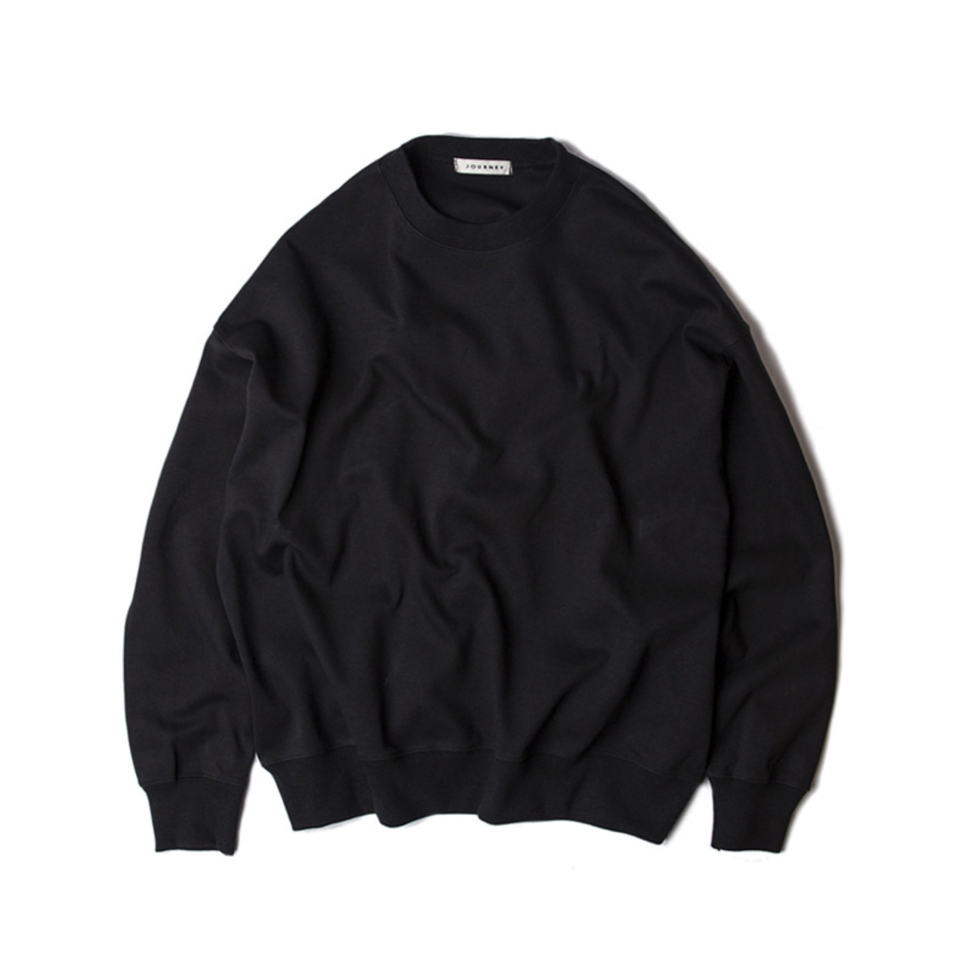 BLANKOVERSIZE FIT SWEATSHIRT(BLACK)