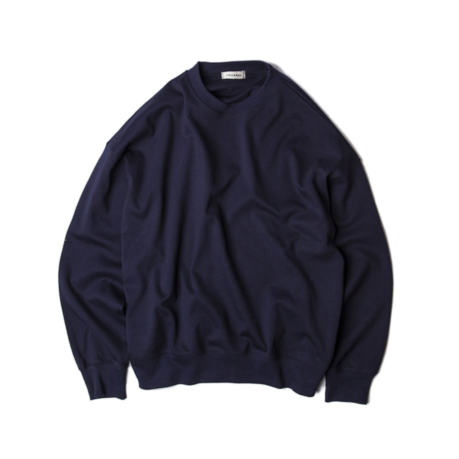 BLANKOVERSIZE FIT SWEATSHIRT(NAVY)