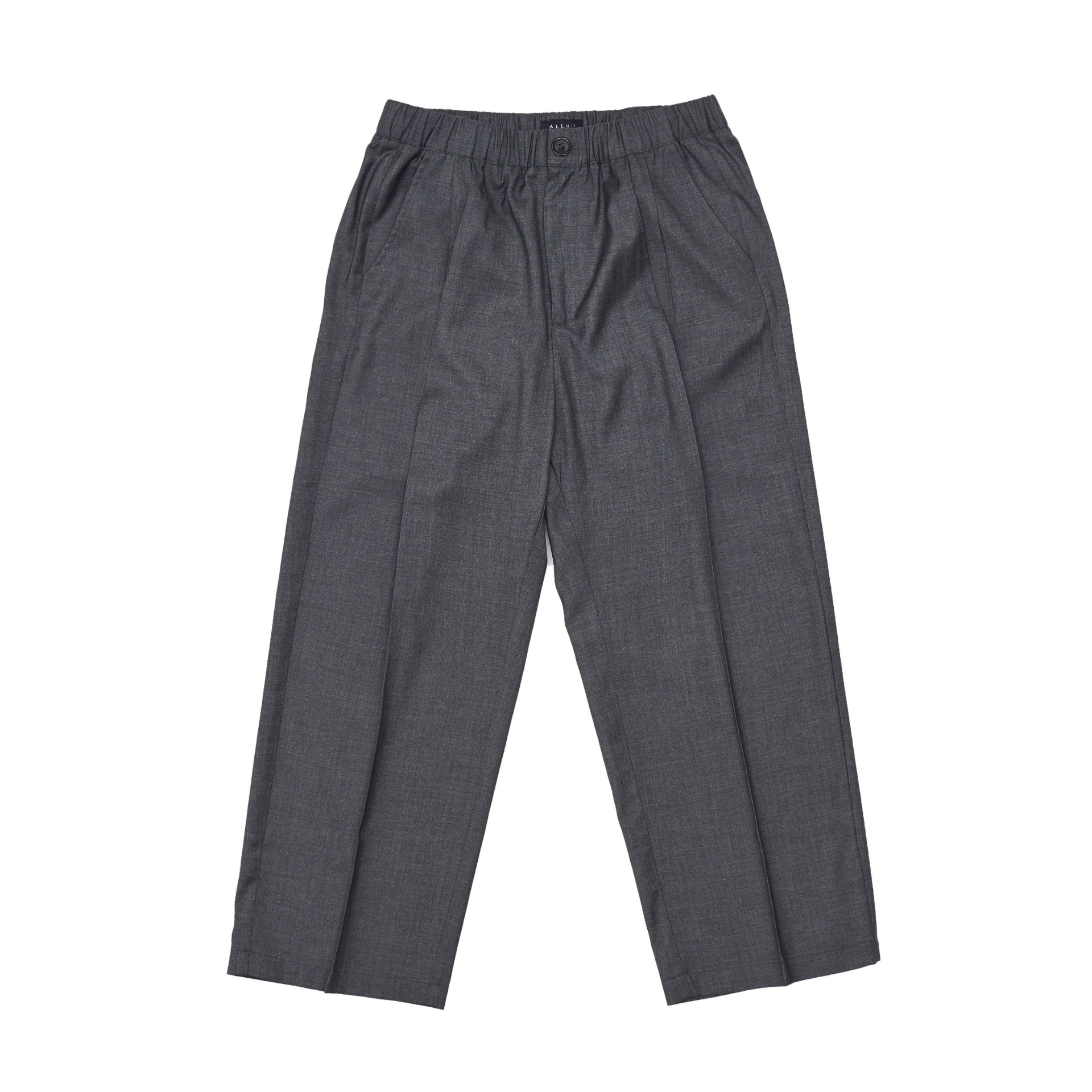 EASY WIDE SLACKS(GREY)