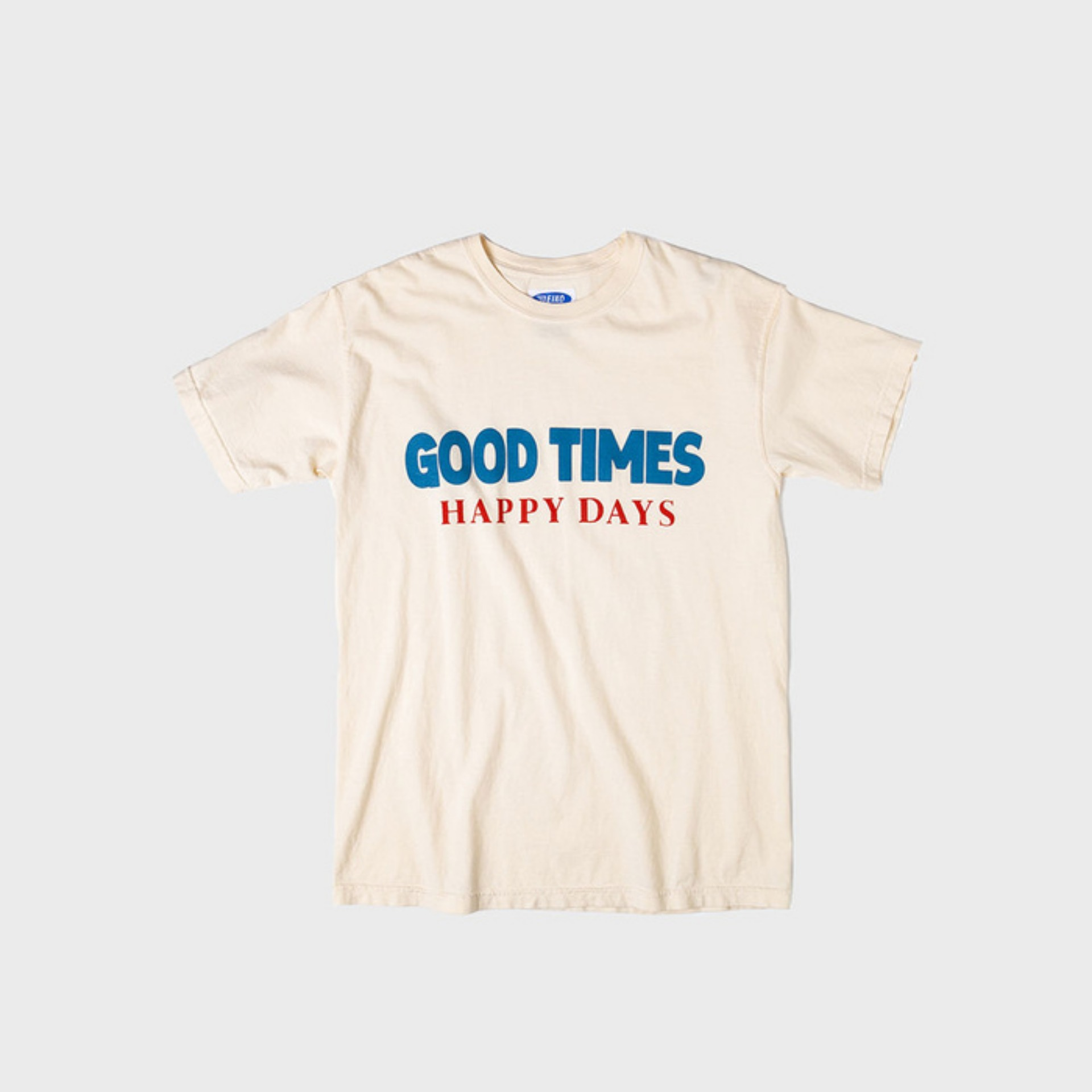 Good Time T-SHIRT (IVORY)