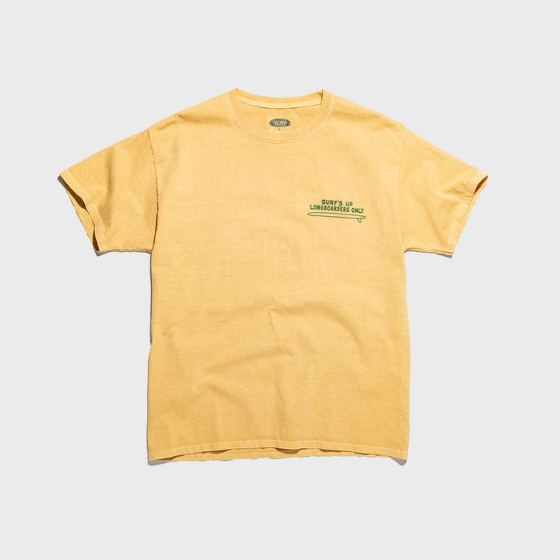 Original University Tee PENGUIN SURF(sand yellow)