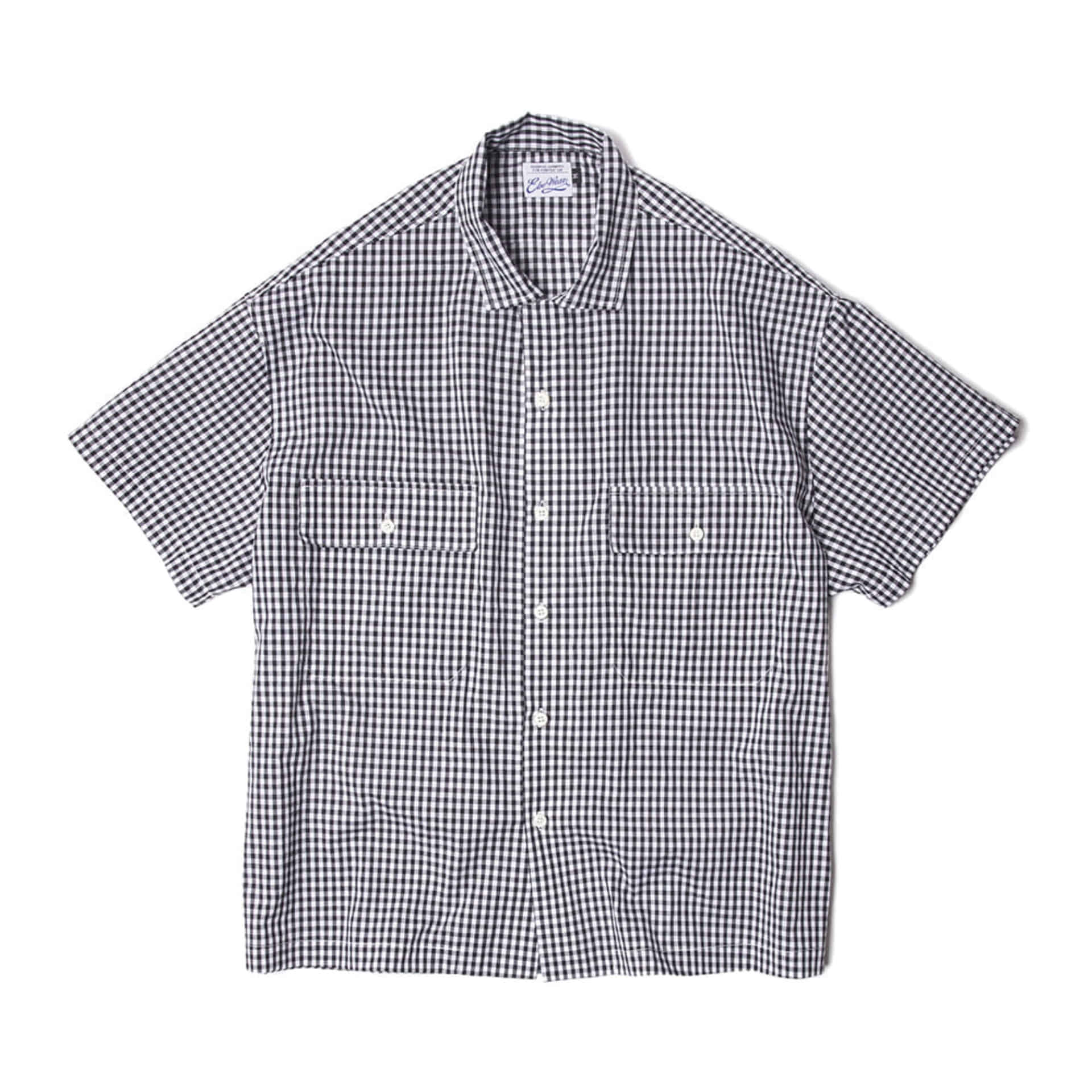 STINGRAY S/S SHIRTS(BLACK)