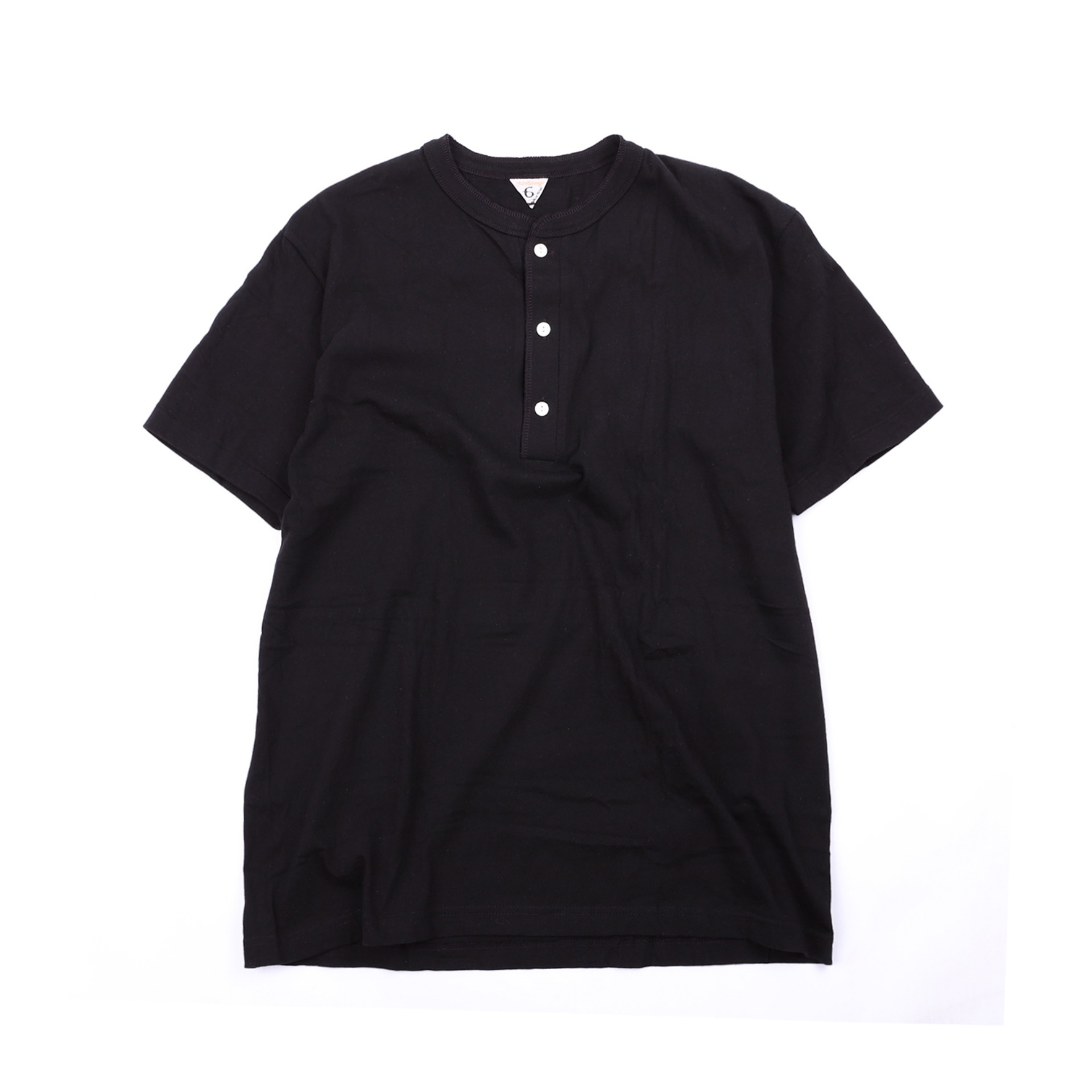 [HENRI]T-shirtShort Sleeve T-Shirt(Black)
