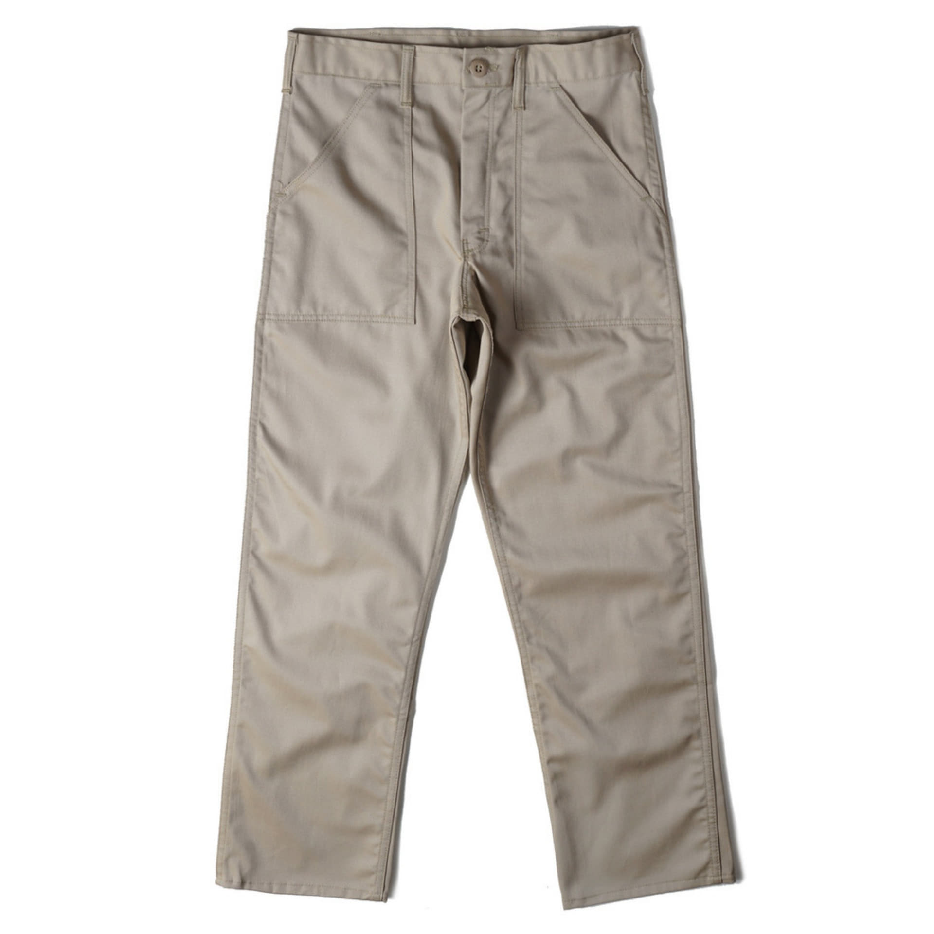 4 Pocket Fatigue Pants 1106P Khaki Twill(KHAKI)