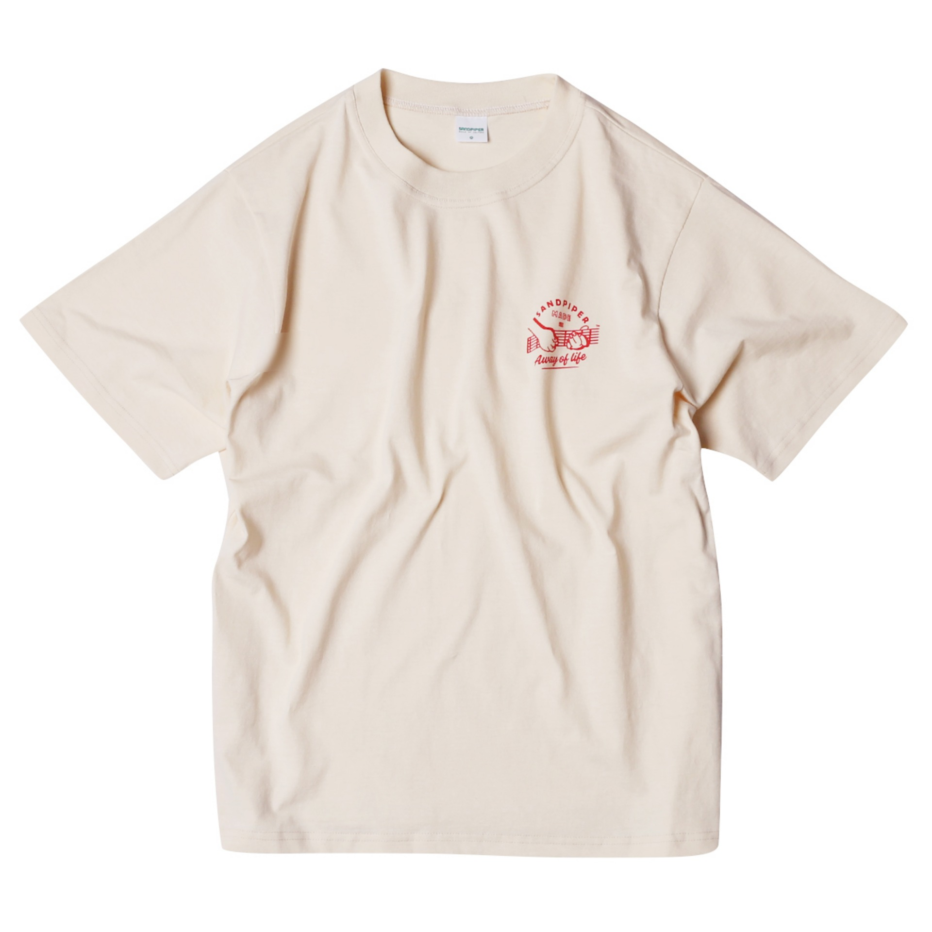 S.FACE GUITARLIST T SHIRTS(BEIGE)