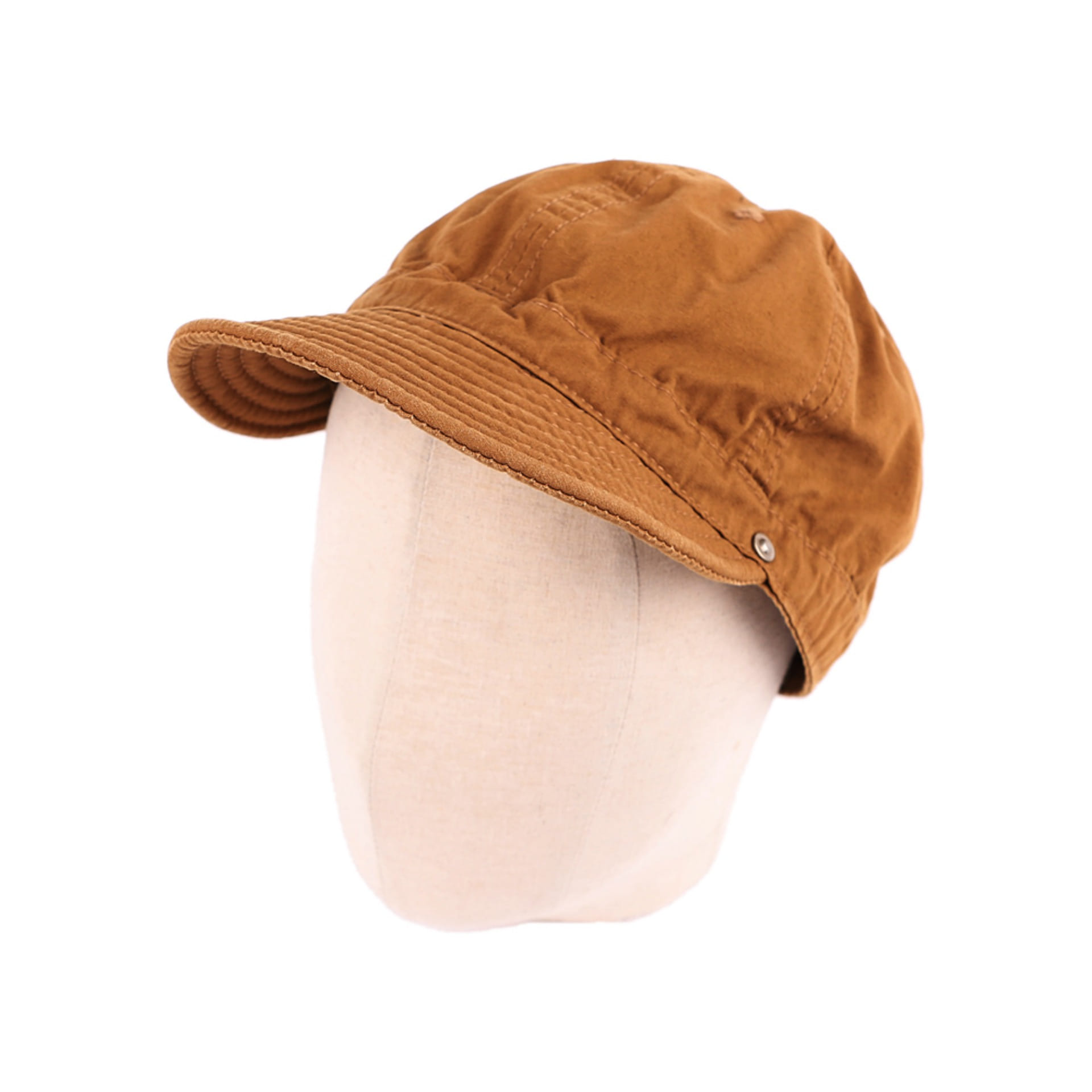 SHALLOW KOME CAP(BROWN)