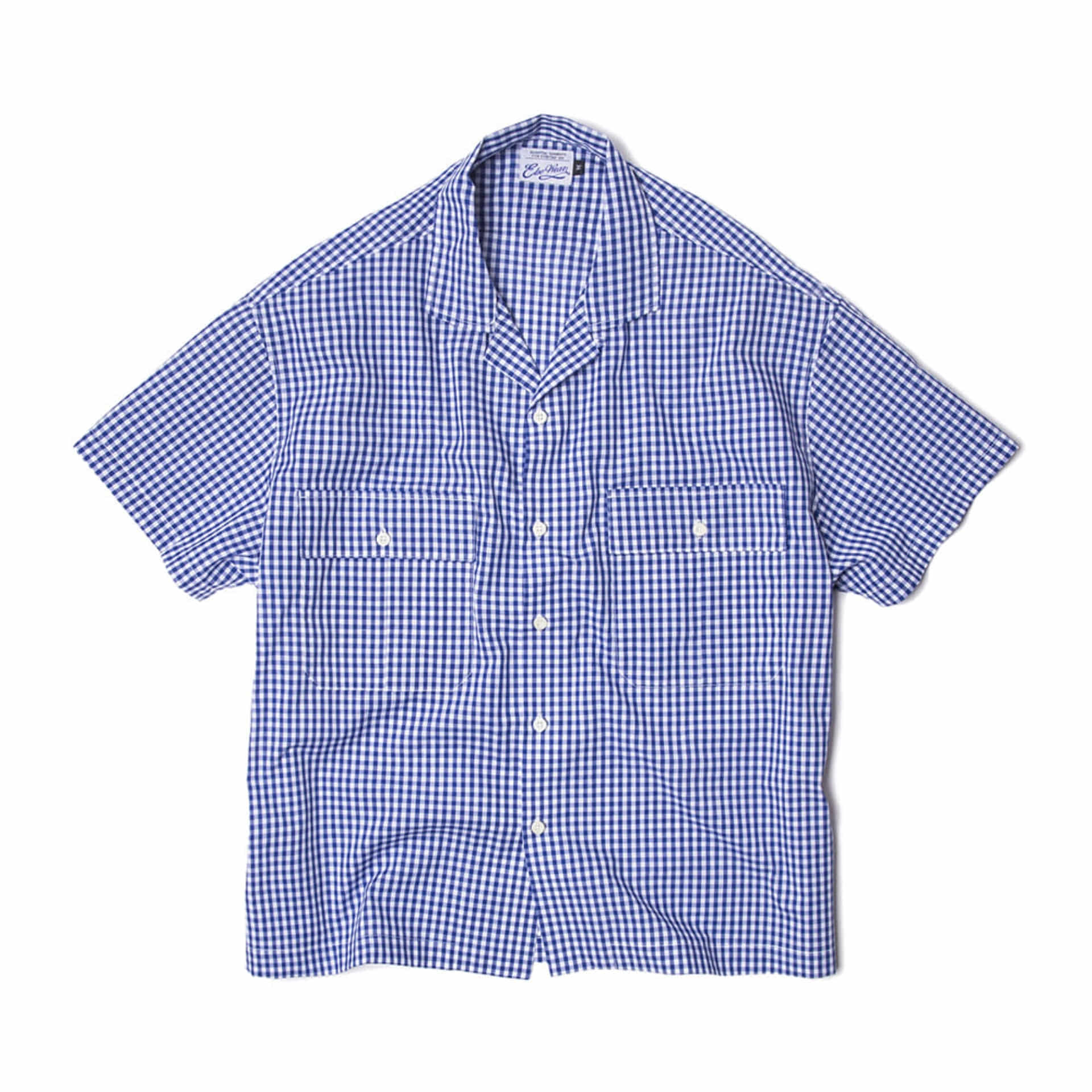 STINGRAY S/S SHIRTS(BLUE)