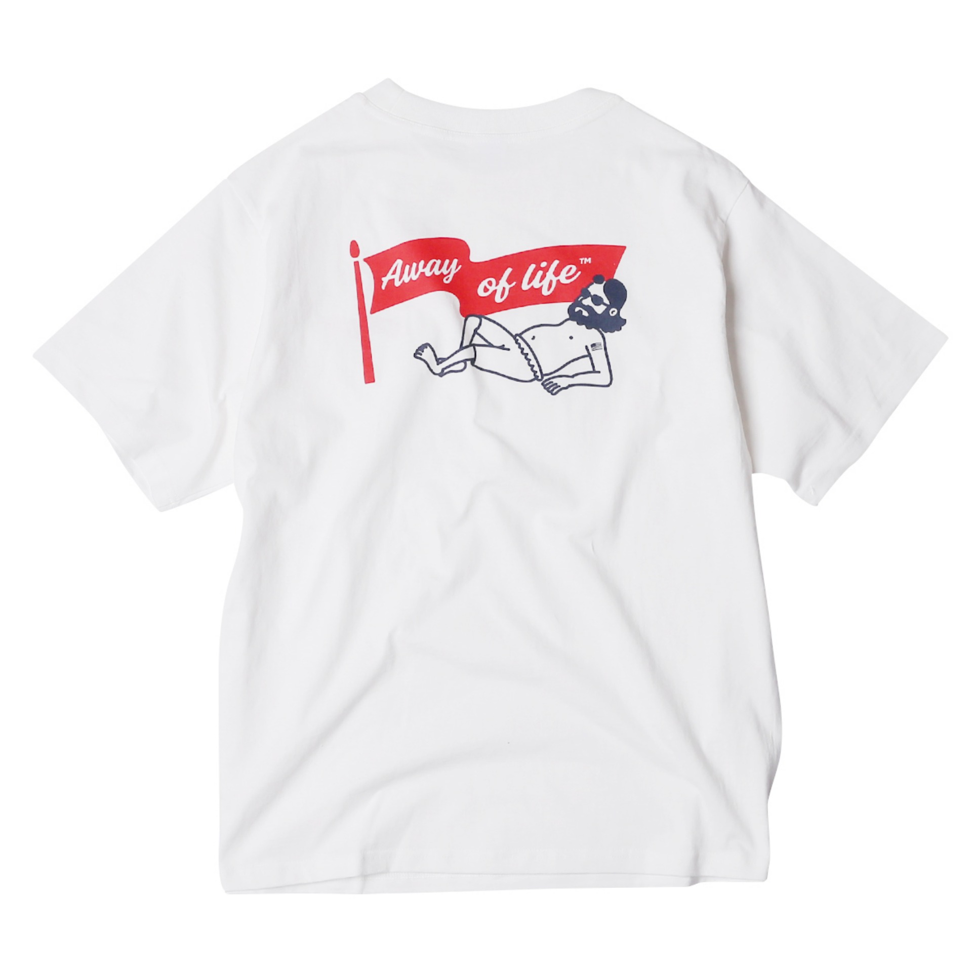 UNCLE BEACH T SHIRTS OFF(WHITE)