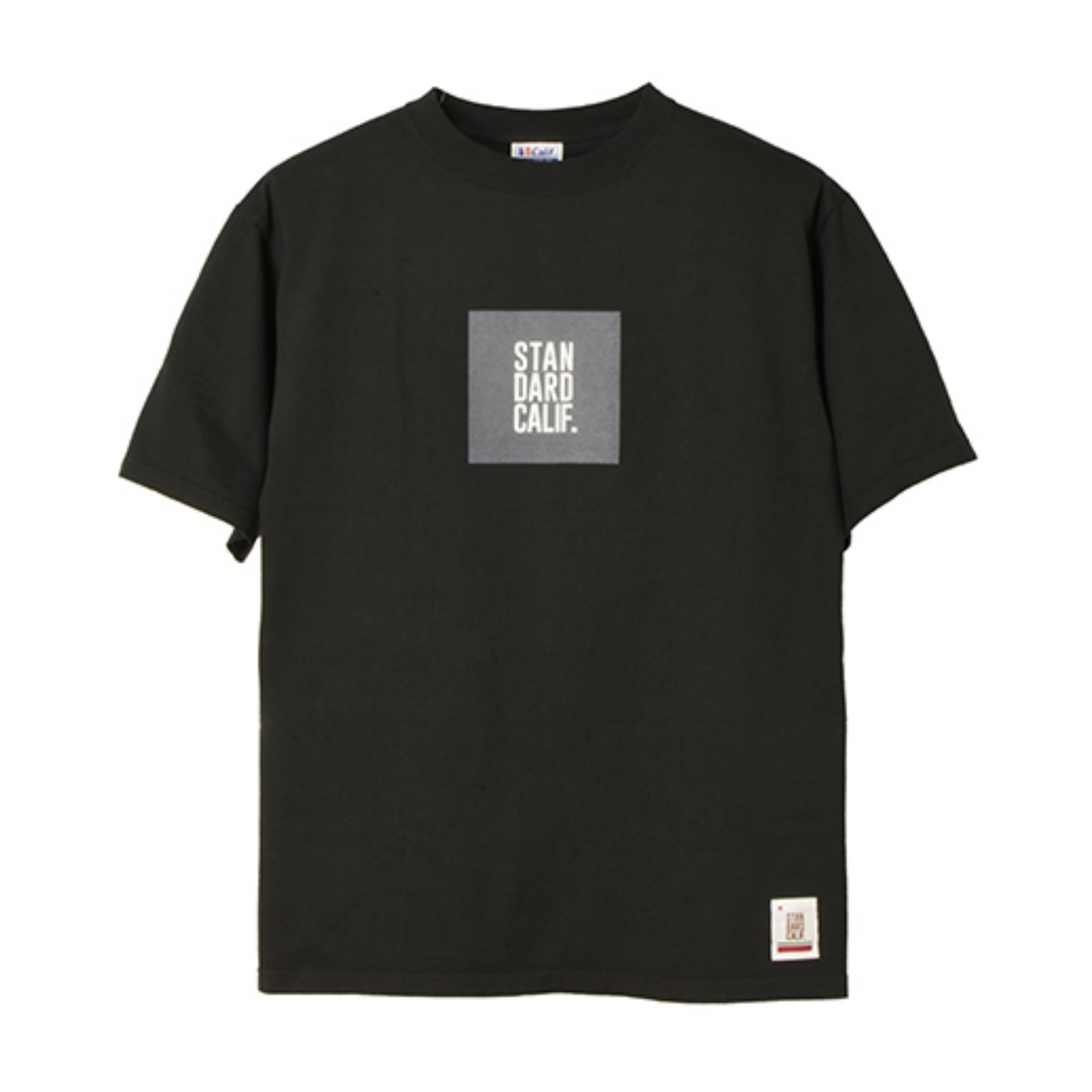 SD HEAVYWEIGHT BOX LOGO T (BLACK)