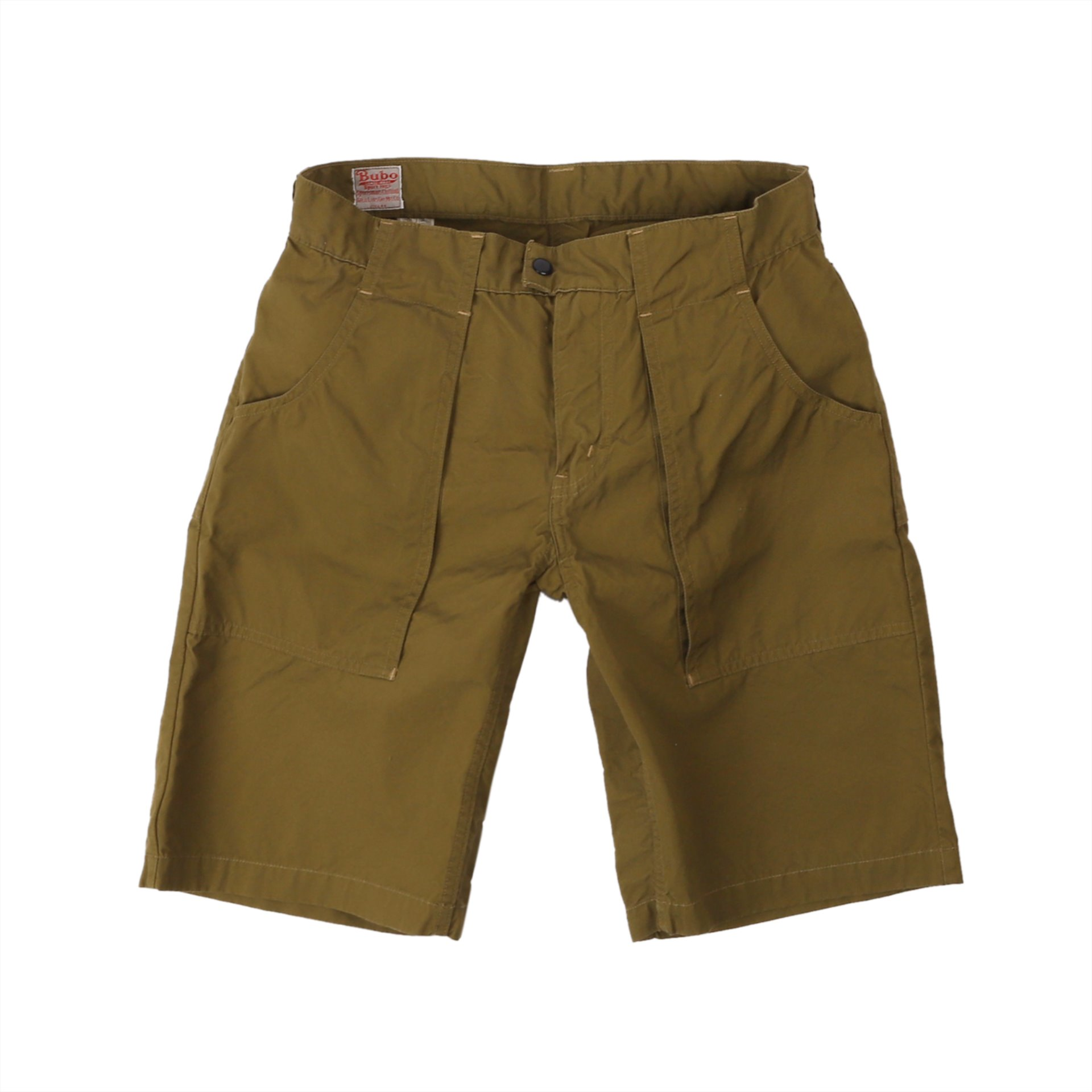 "[Great Lakes GMT. MFG. Co.]UTILITY GARMENTS""BUSH MASTER"" SHORTS (Vintage Ventile Weather Olive)"