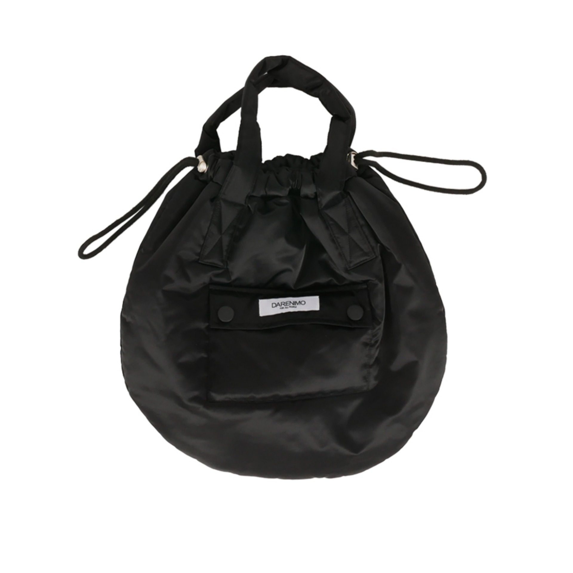 DRAWCORD HELMET BAG (BLACK)