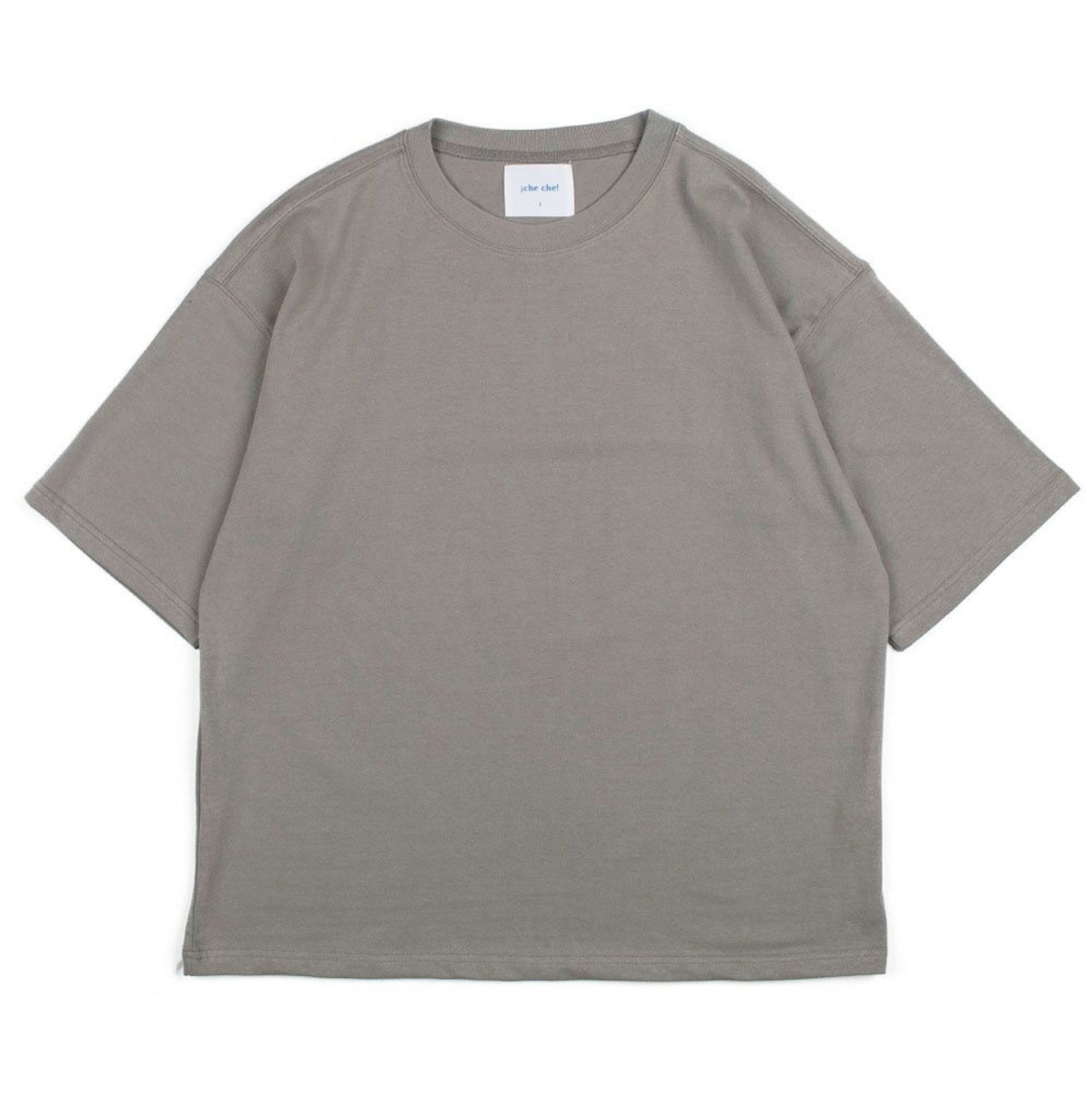 BIG SILHOUTTE T-SHIRTS (PISRACHIO GREY)