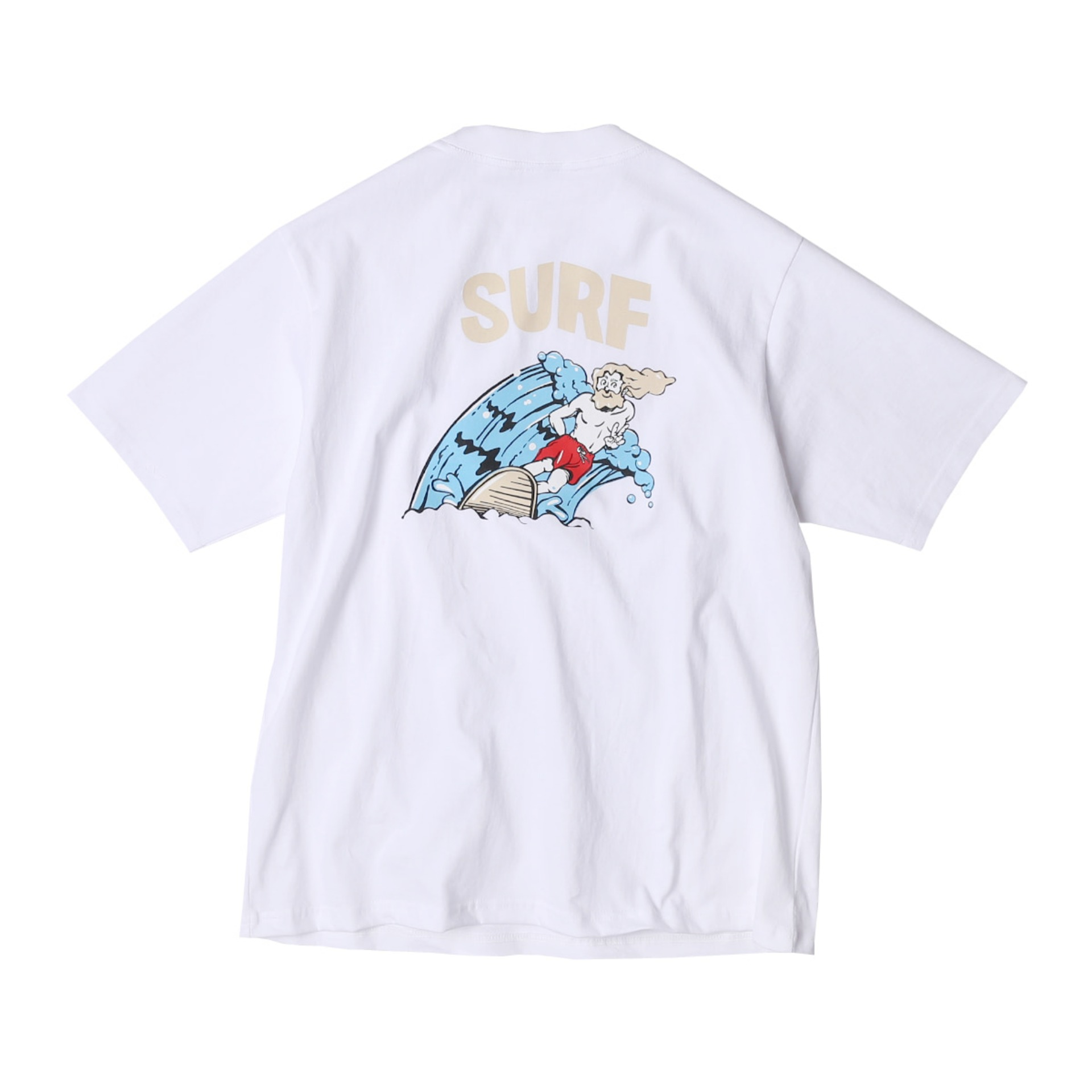 JESUS SURF T SHIRTS (WHITE)