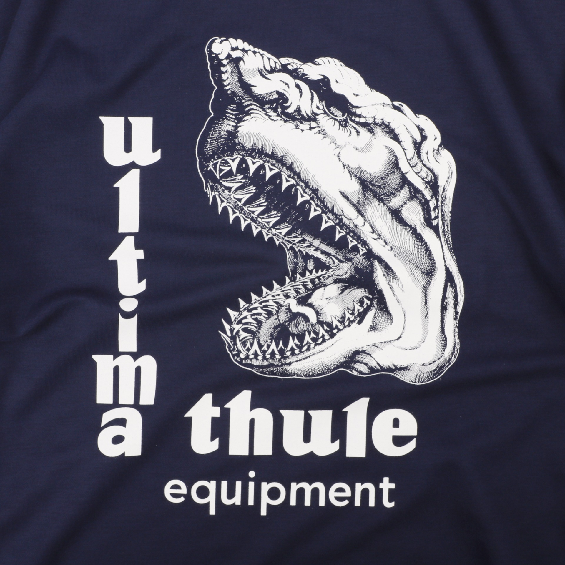 "[Ultima Thule]Equipment T-shirts""Take A Bite""(Navy)"