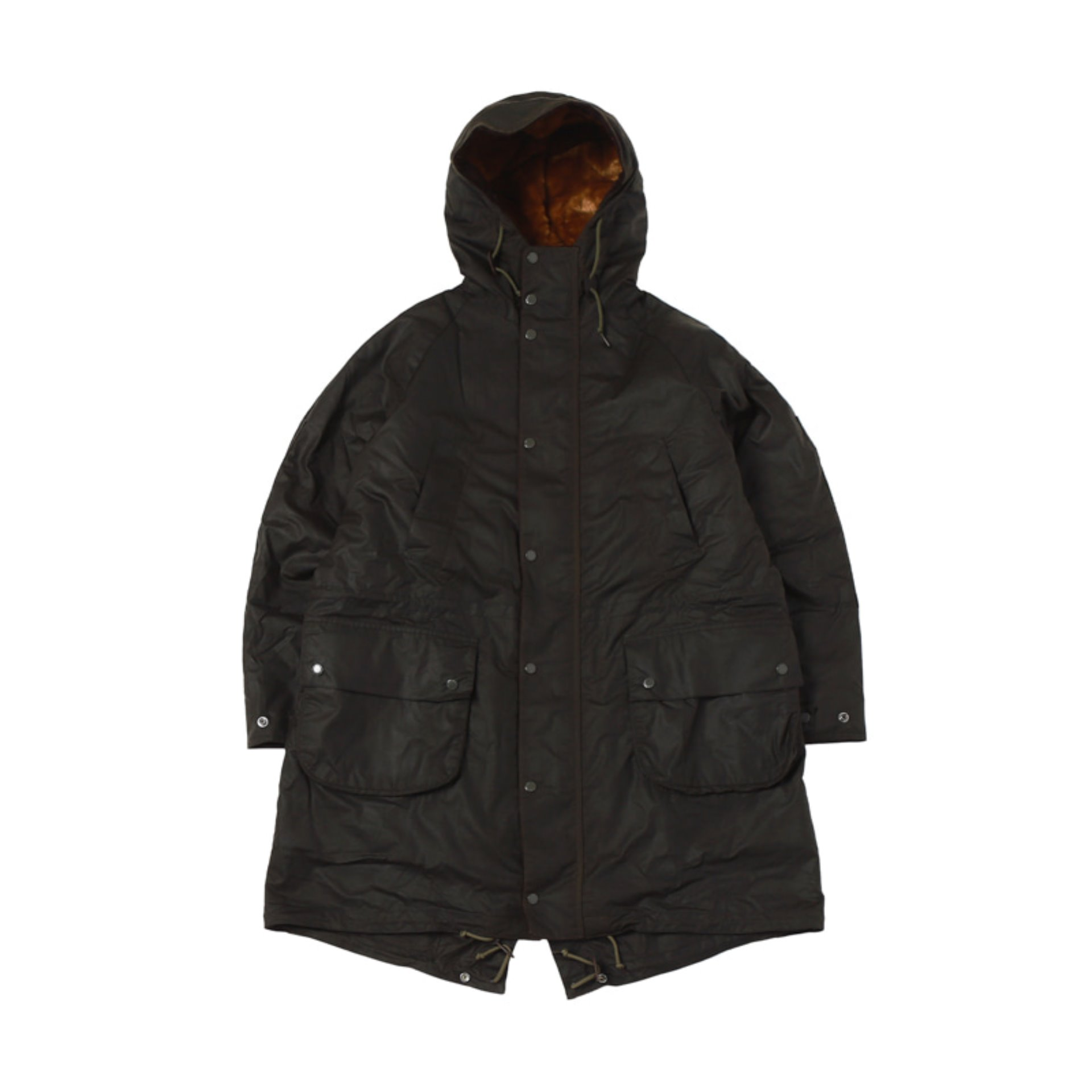 BARBOUR x ENGINEER GARMENTS HIGHLAND PARKA (Olive)
