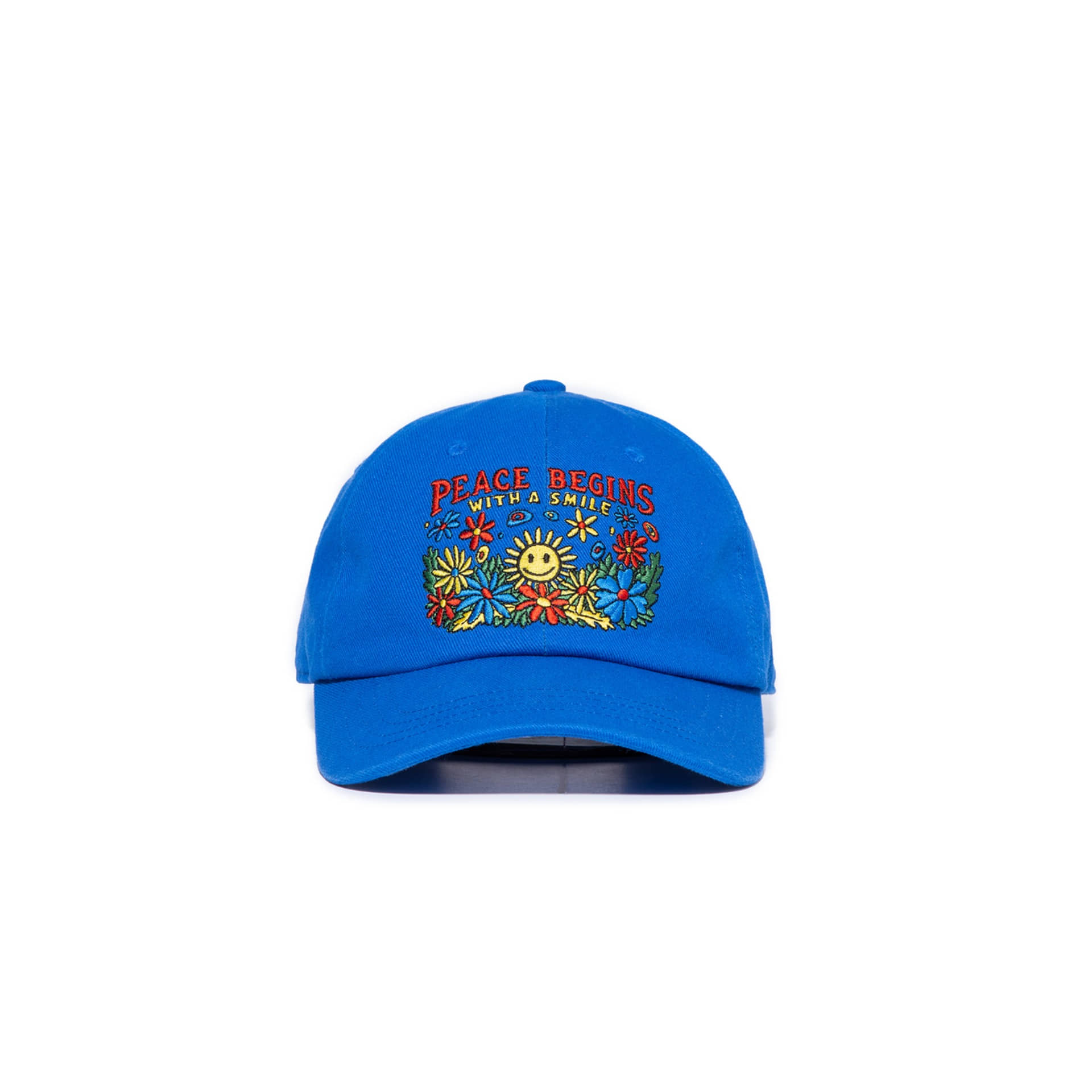 FLOWER MOVEMENT CAP BLUE