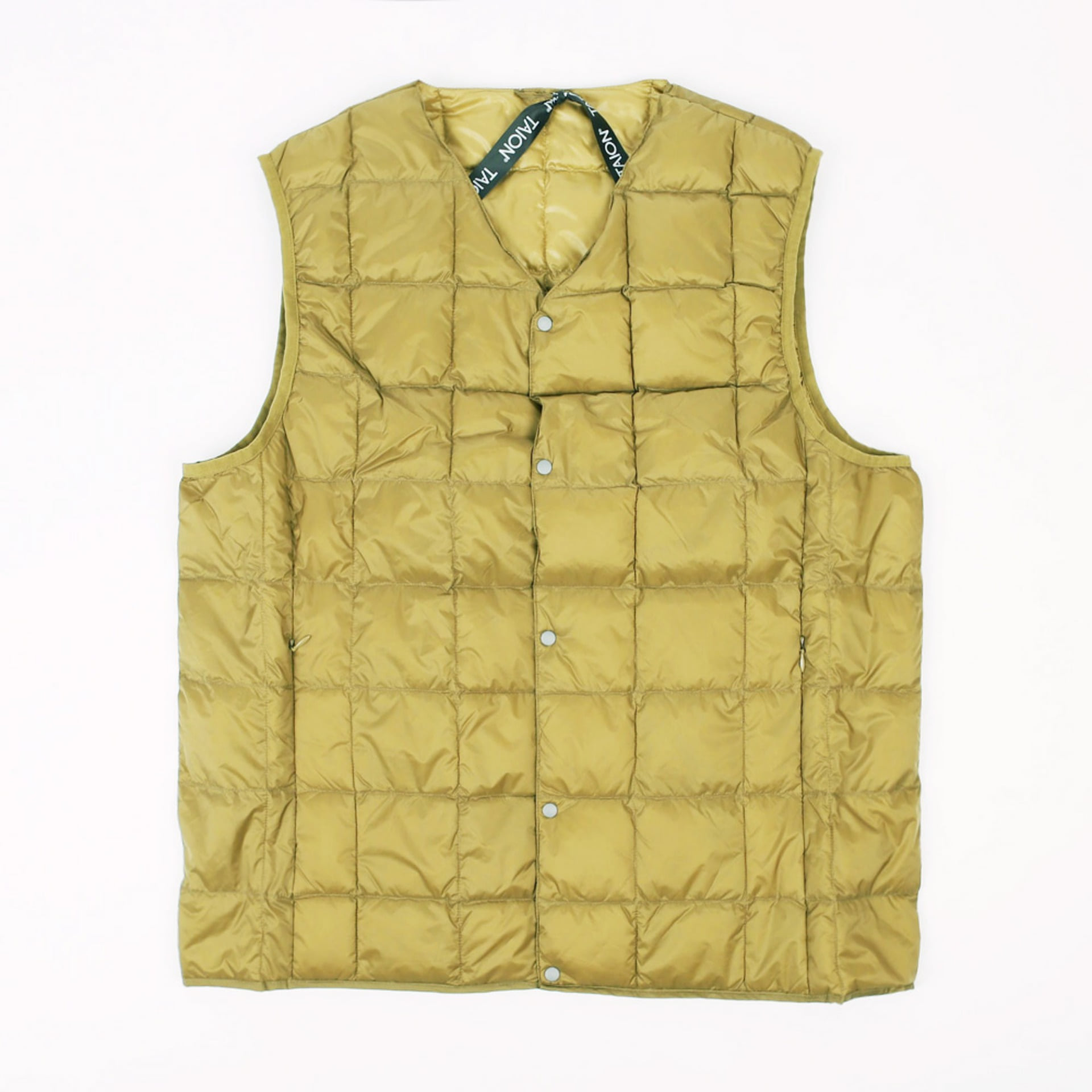 TAION V NECK VEST -001 (BEIGE)