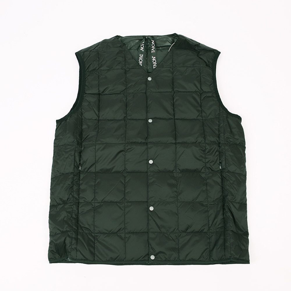 TAION V NECK VEST - 001 (BLACK)