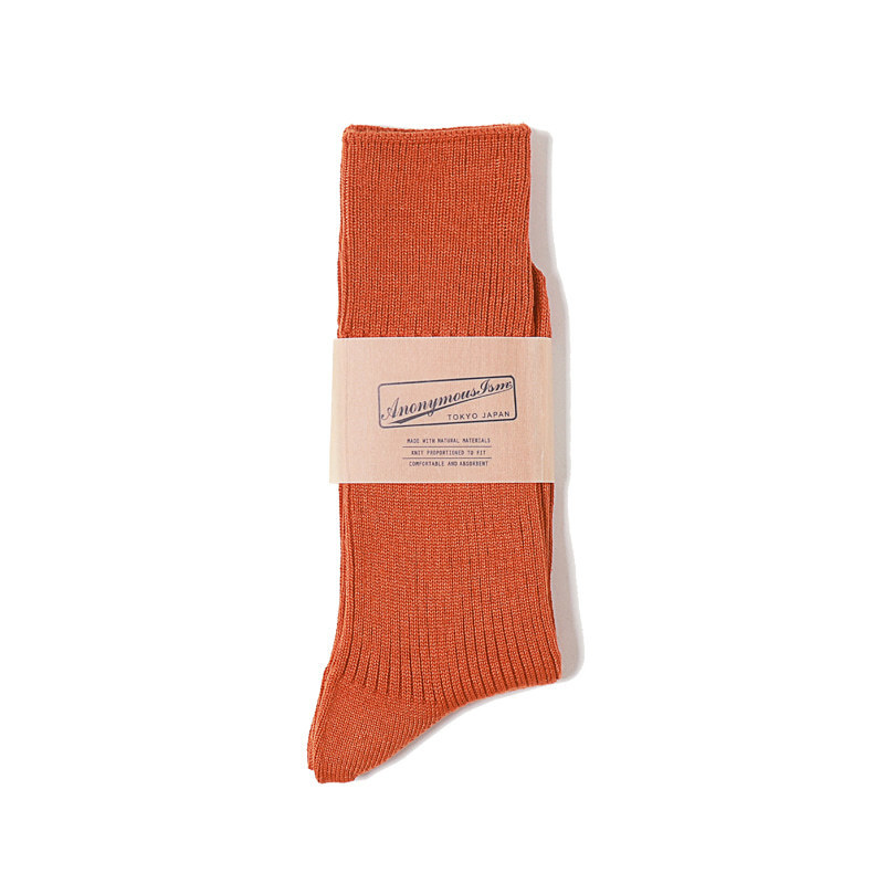 BRILIANT RIB CREW (Orange)