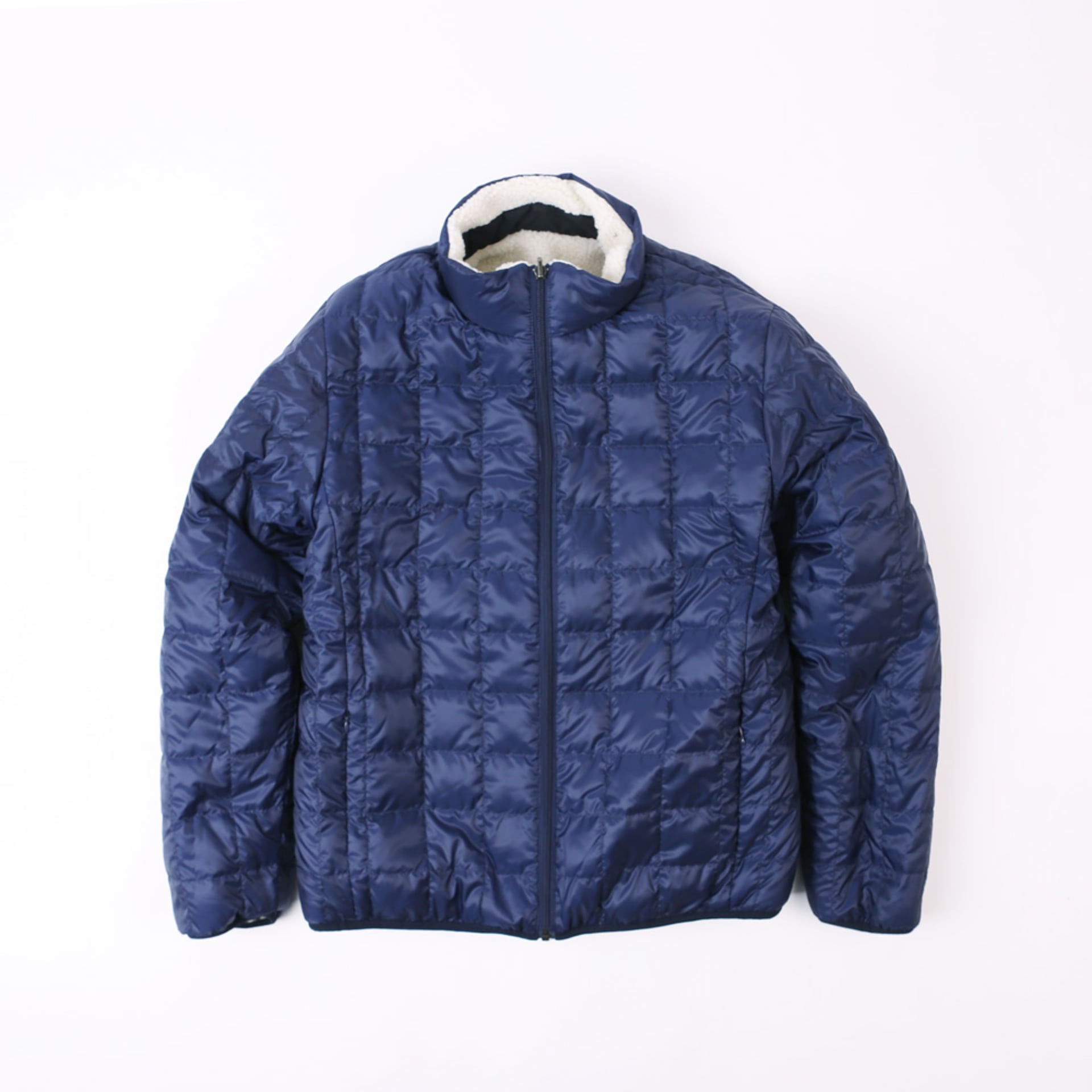 DOWN x BOA REVERSIBLE DOWN JACKET TAION-R102MB (Navy)